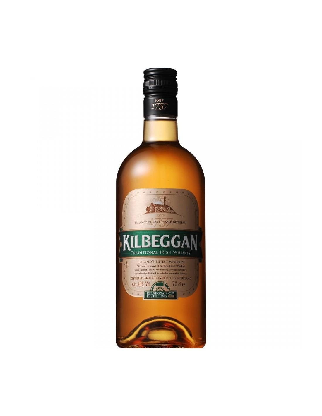 Whisky Kilbeggan, 40% alc., 0.7L, Irlanda