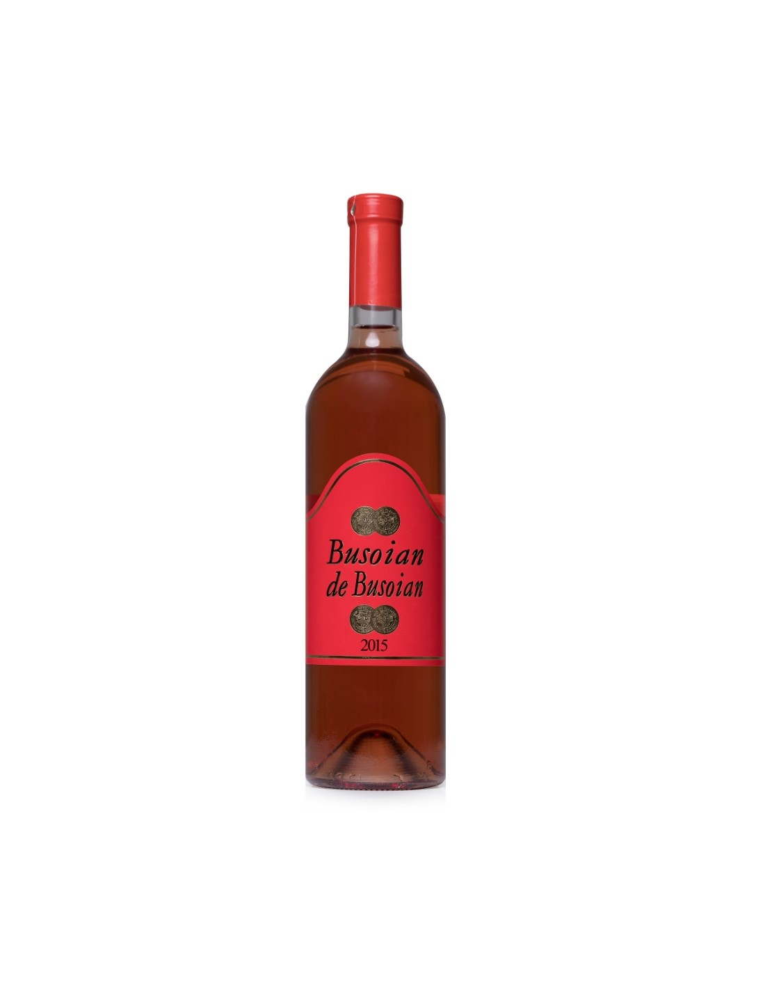 Vin roze demidulce, Muscat, Busoian de Busoian Hulboaca, 0.75L, 12.5% alc., Republica Moldova