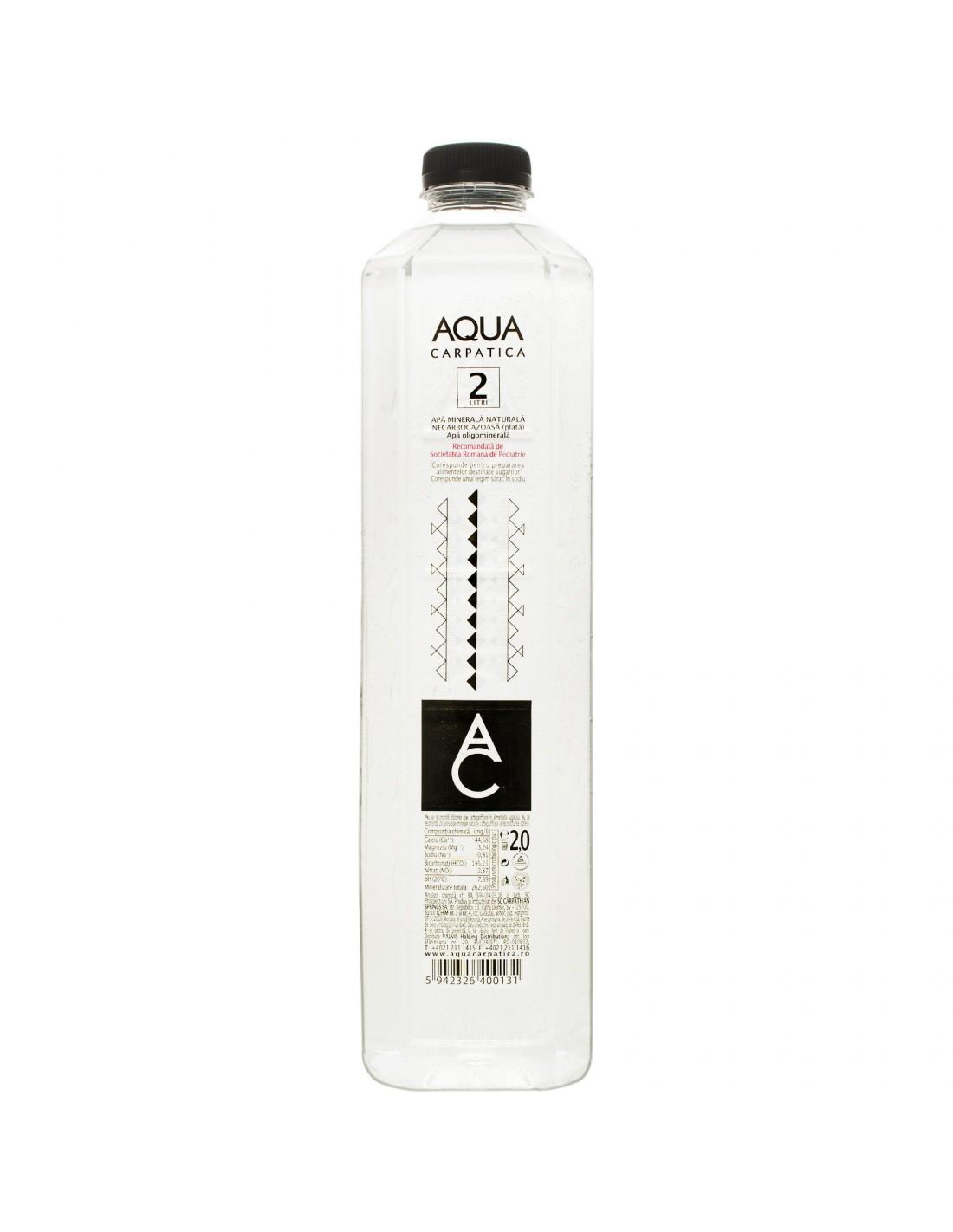 Apa plata Aqua Carpatica 2L BAX*6 buc