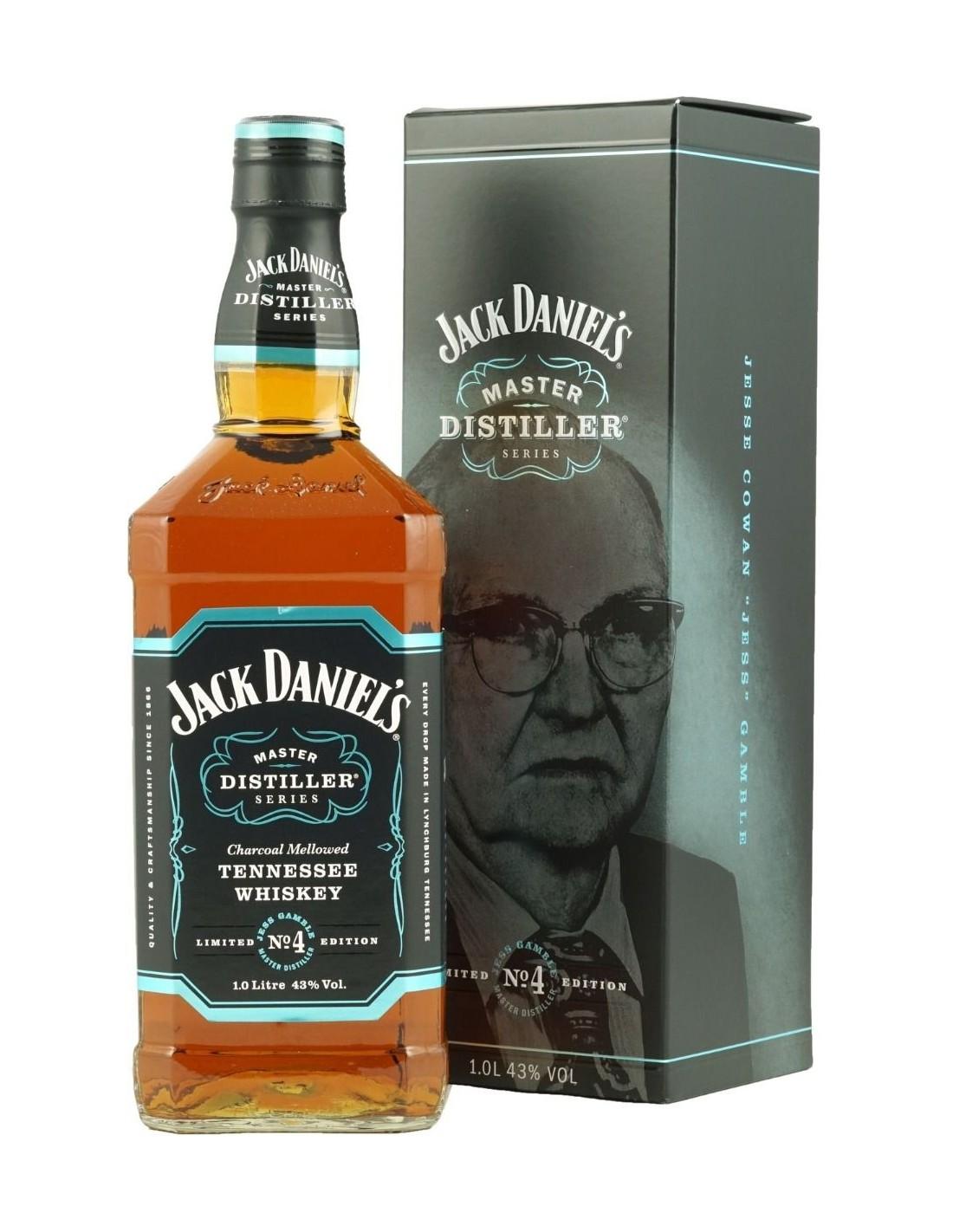 Whisky Bourbon Jack Daniel's Master Distiller No. 4, 43% alc., 1L, America