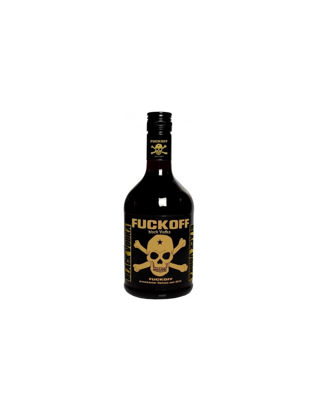 Vodca Fuckoff Black 0.7L, 40% alc., Germania