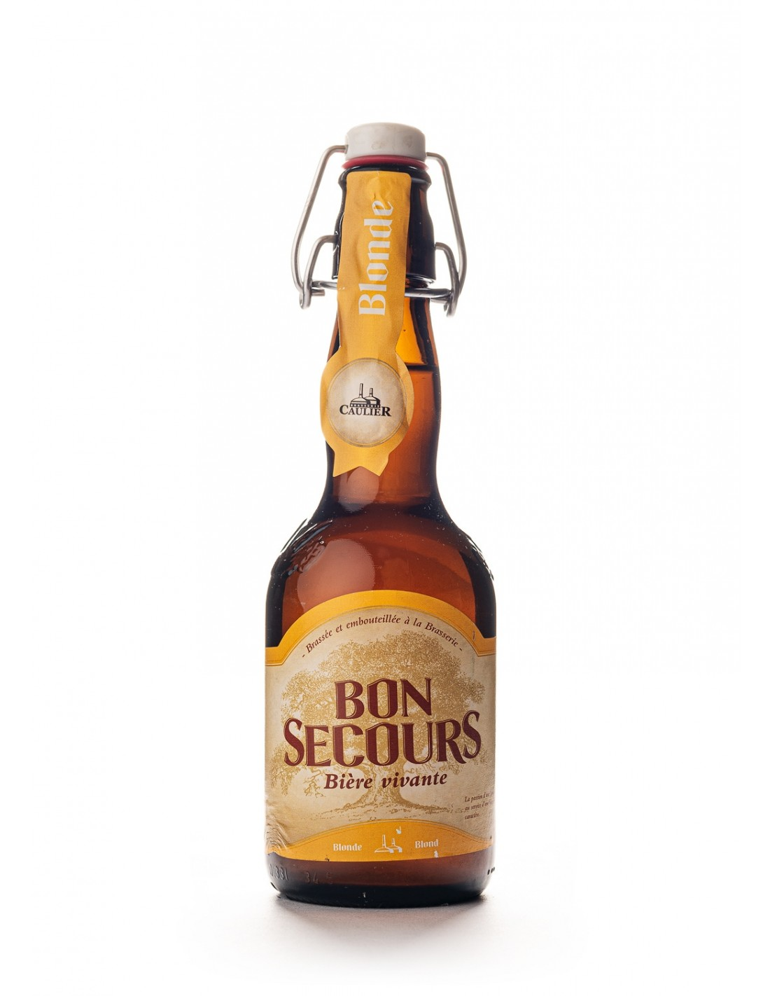 Bere blonda Bon Secours, 8% alc., 0.33L, Belgia