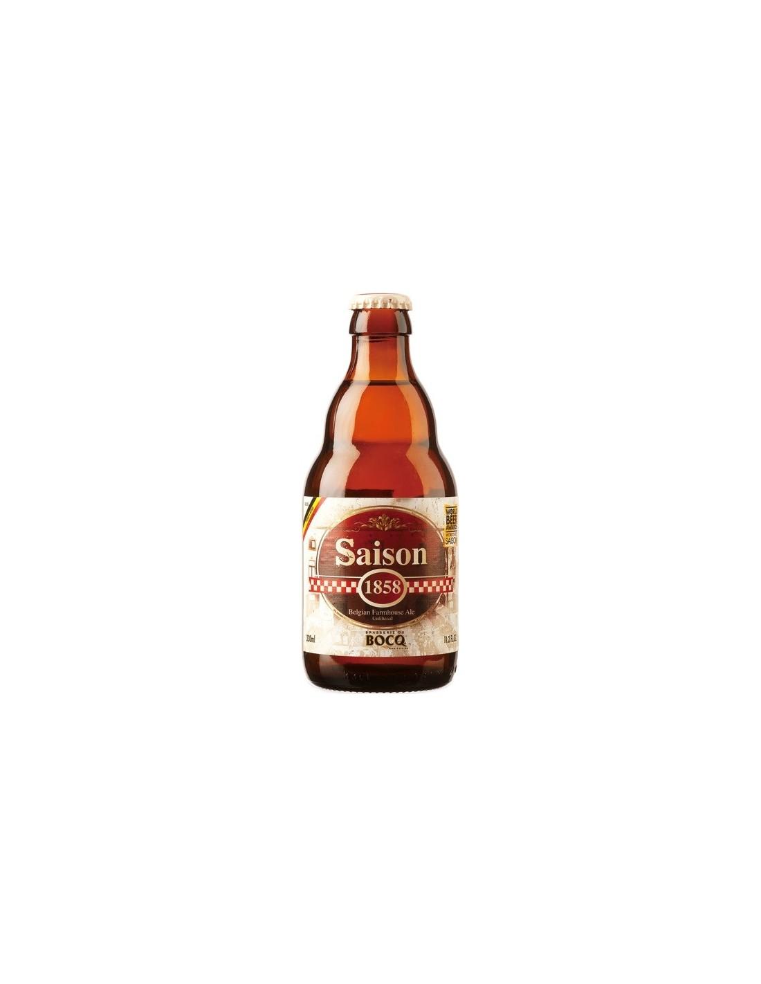 Bere blonda Saison 1858, 6.4% alc., 0.33L, Belgia