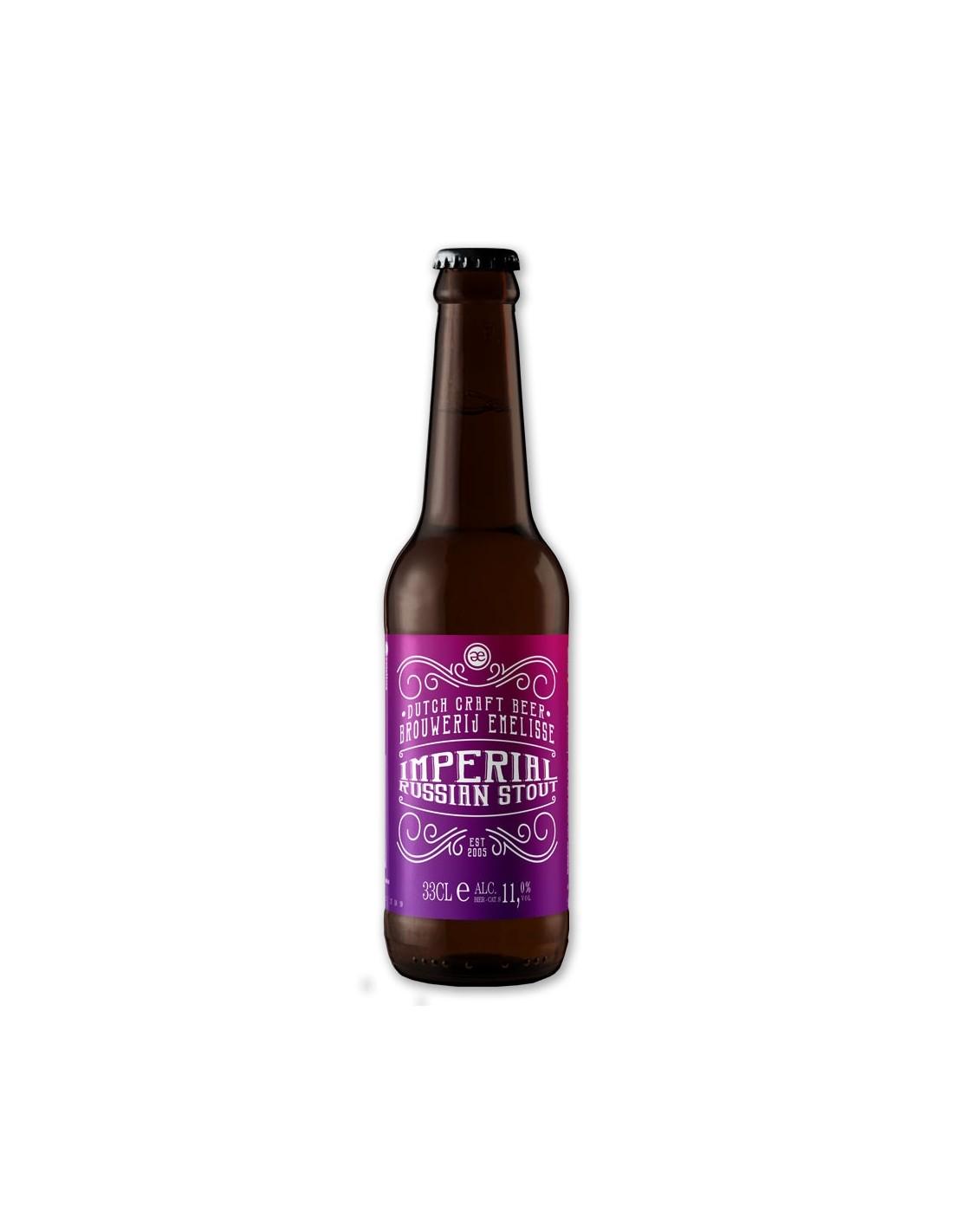 Bere artizanala Brouwerij Emelisse ImperiaL, 11% alc., 0.33L, Rusia