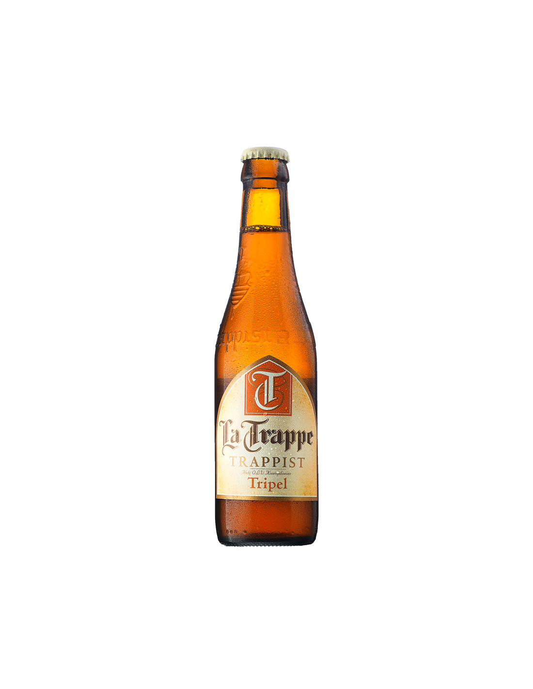 Bere amber, nefiltrata La Trappe, 6.5% alc., 0.33L, Belgia