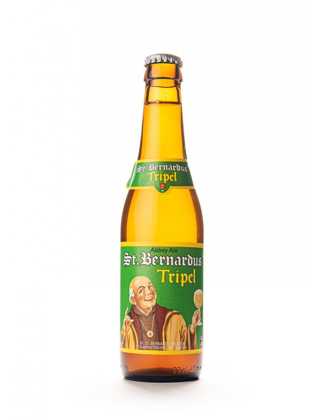 Bere amber, filtrata St.Bernardus, 8% alc., 0.33L, Belgia