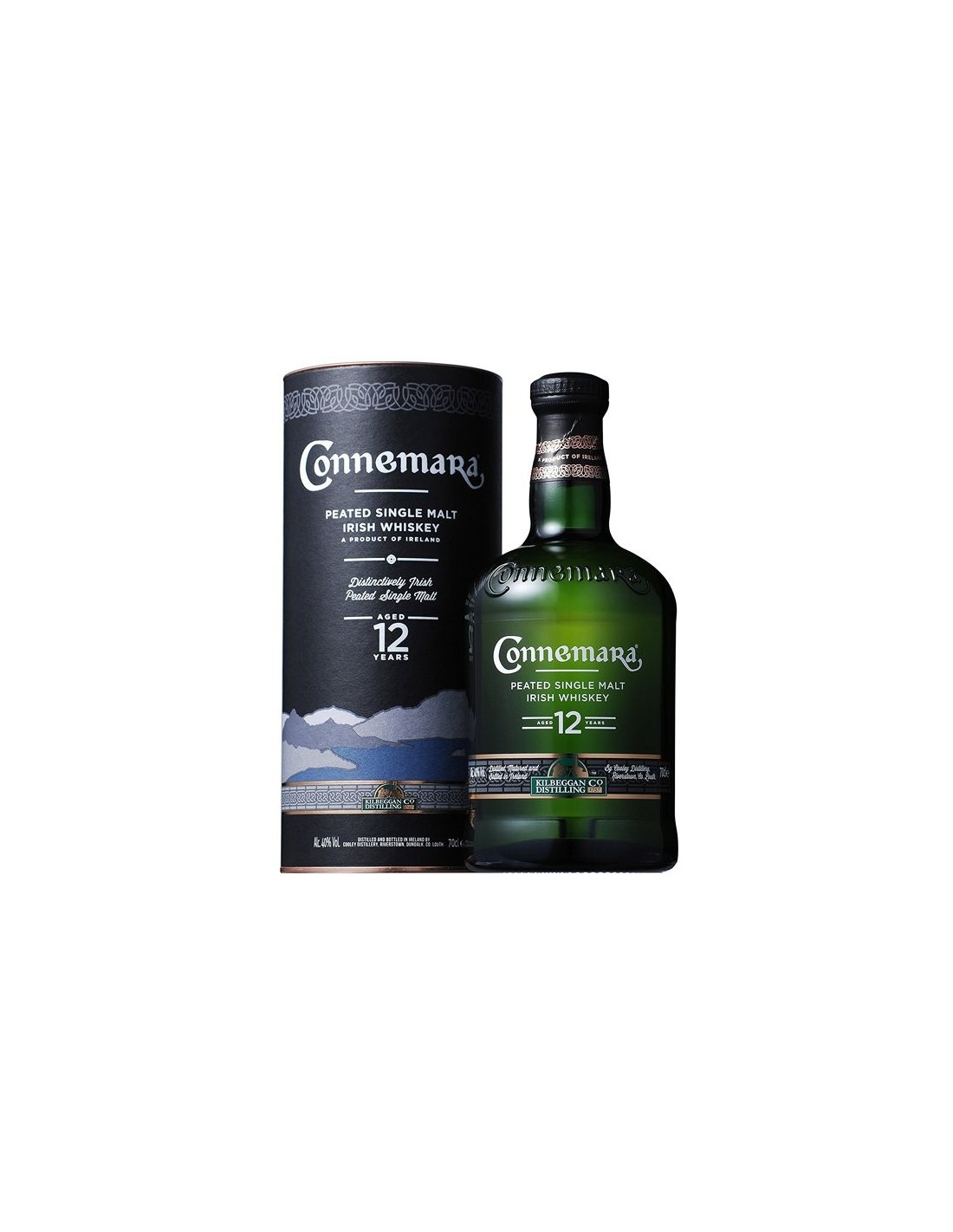 Whisky Connemara Peated Single Malt, 12 ani, 40% alc., 0.7L, Irlanda