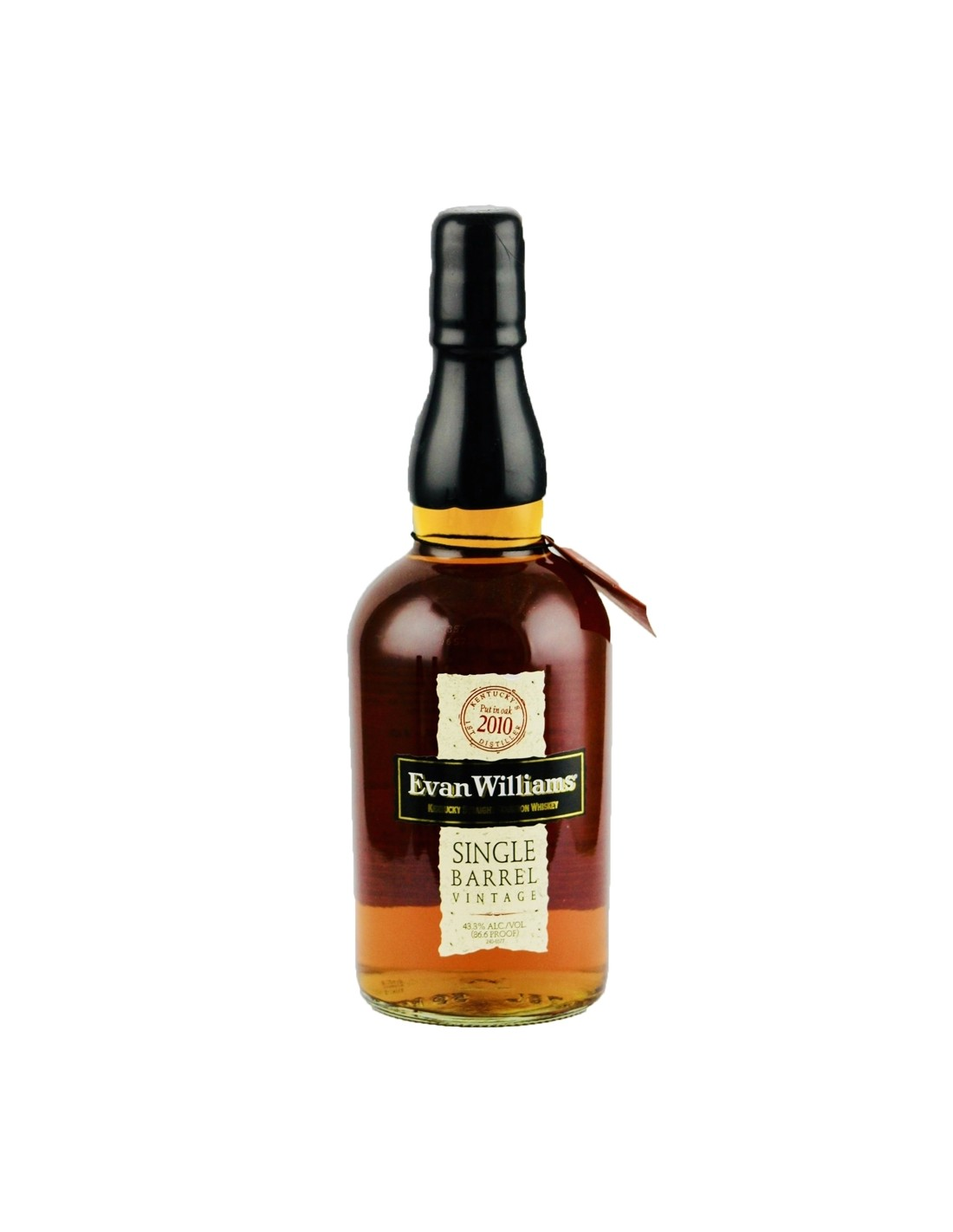 Whisky Bourbon Evan Williams Single Barrel Vintage, 43.3% alc., 0.7L