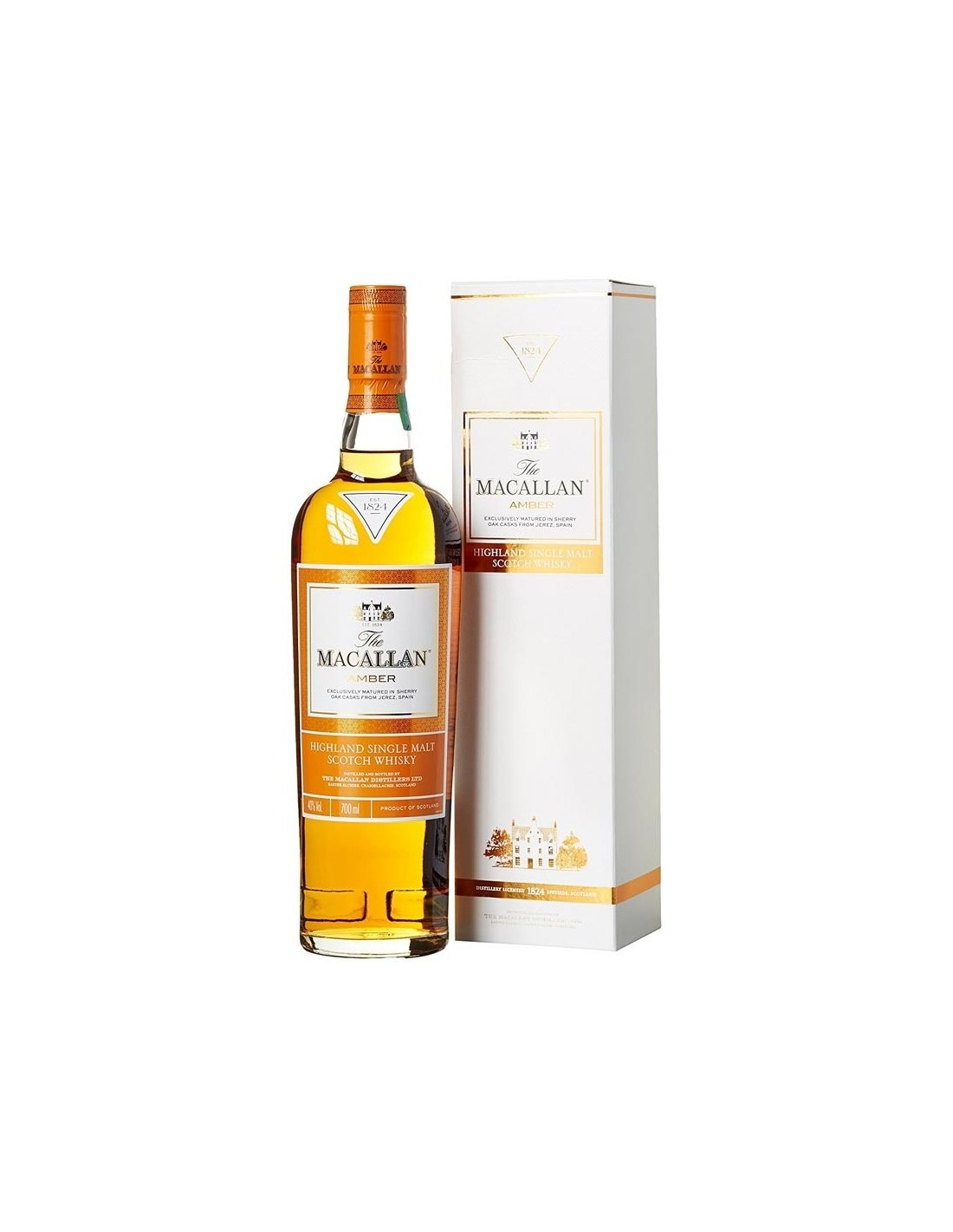 Whisky Macallan Amber, 40% alc., 0.7L, Scotia