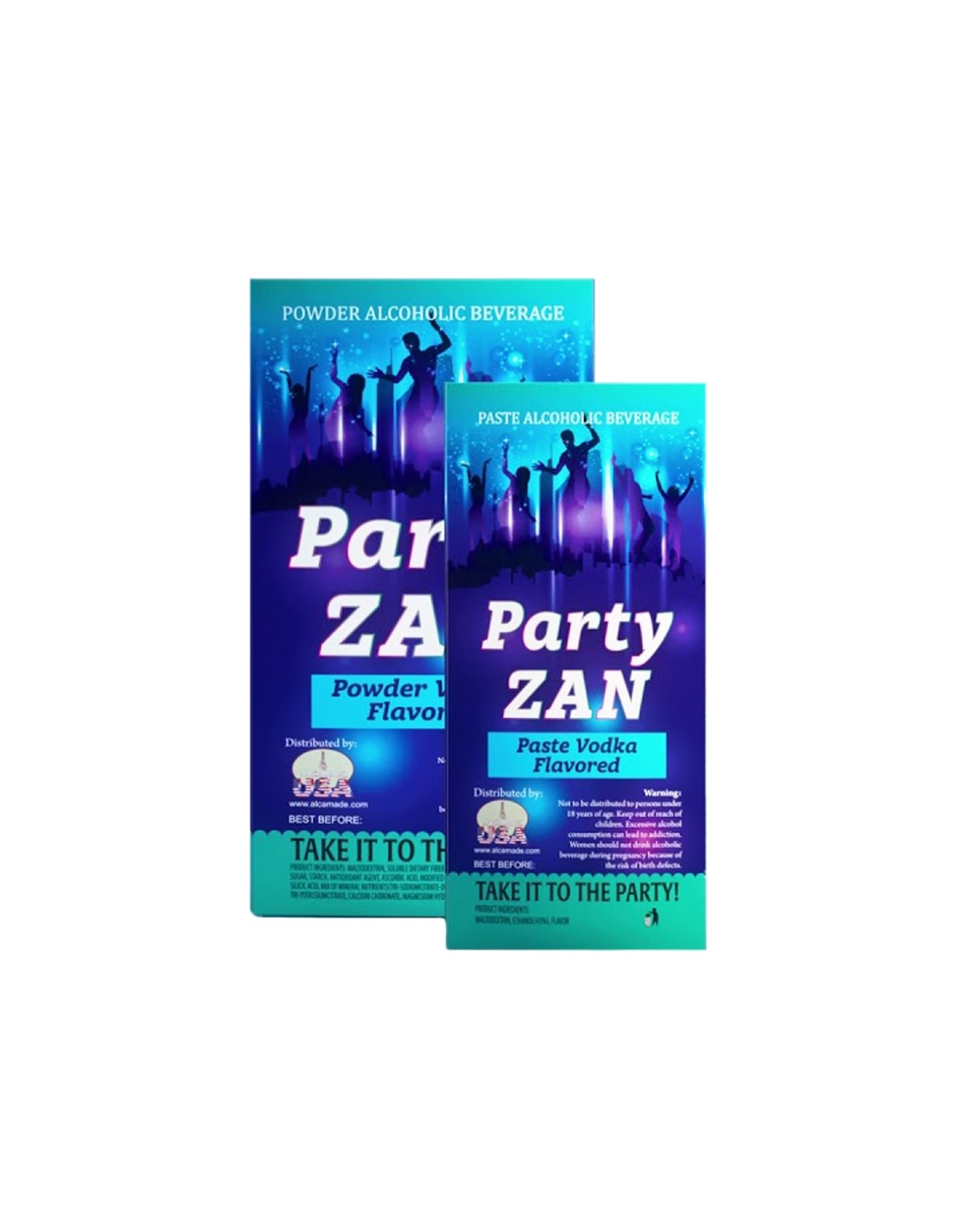 Vodca Party Zan Pasta 43% alc.