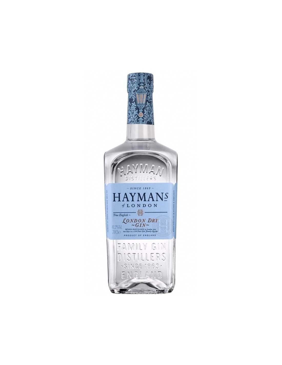 Gin Hayman's London Dry 41.2% alc., 0.7L