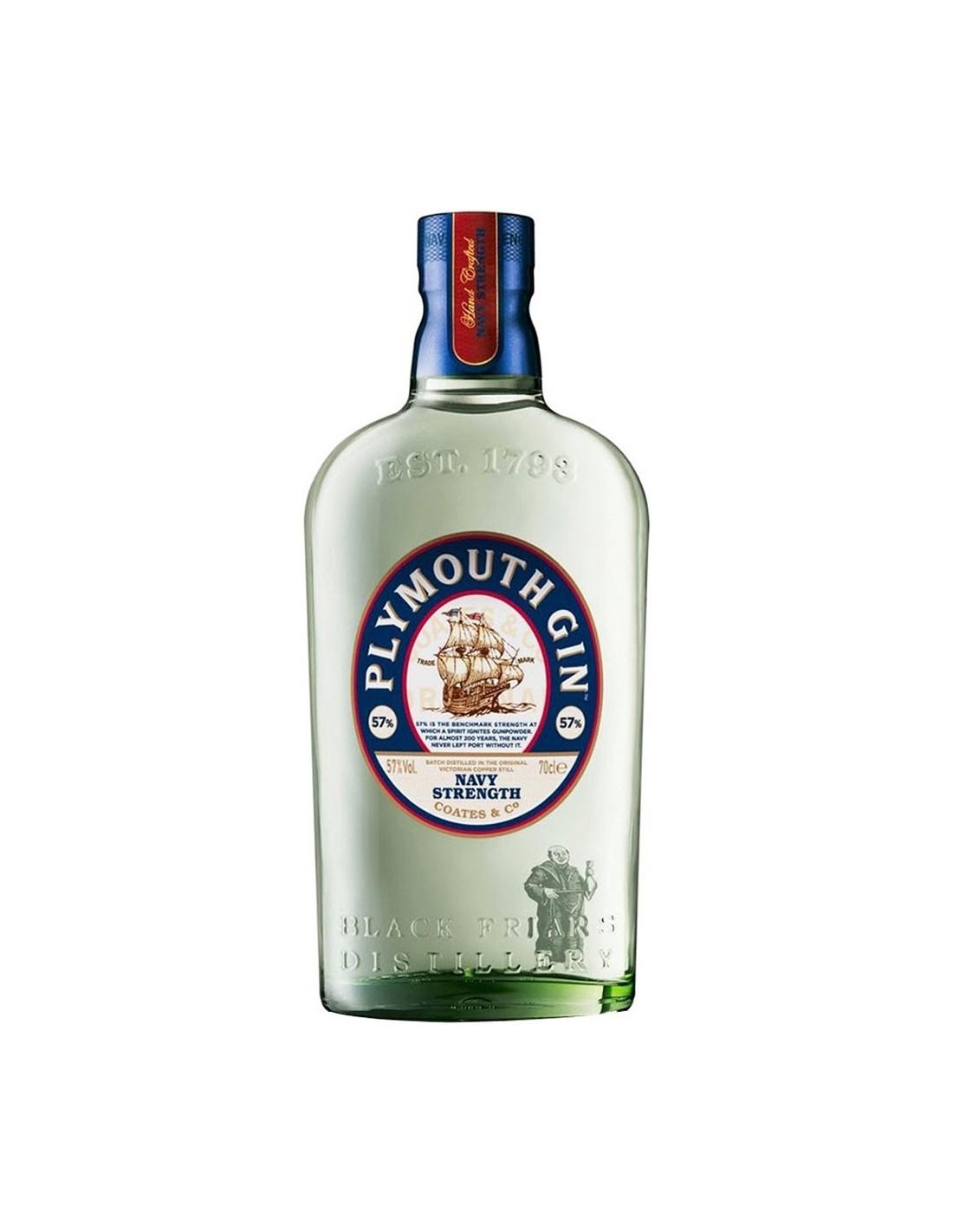Gin Plymouth 41.2% alc., 0.7L, Anglia
