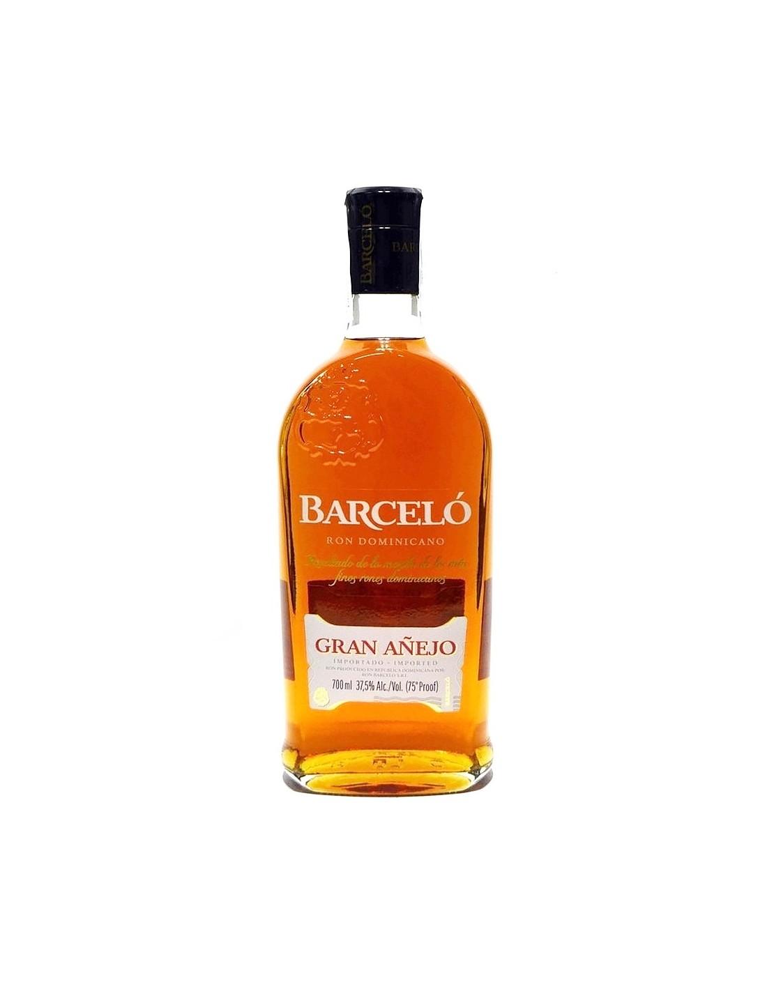 Rom negru Barcelo Gran Anejo, 37.5% alc., 0.7L