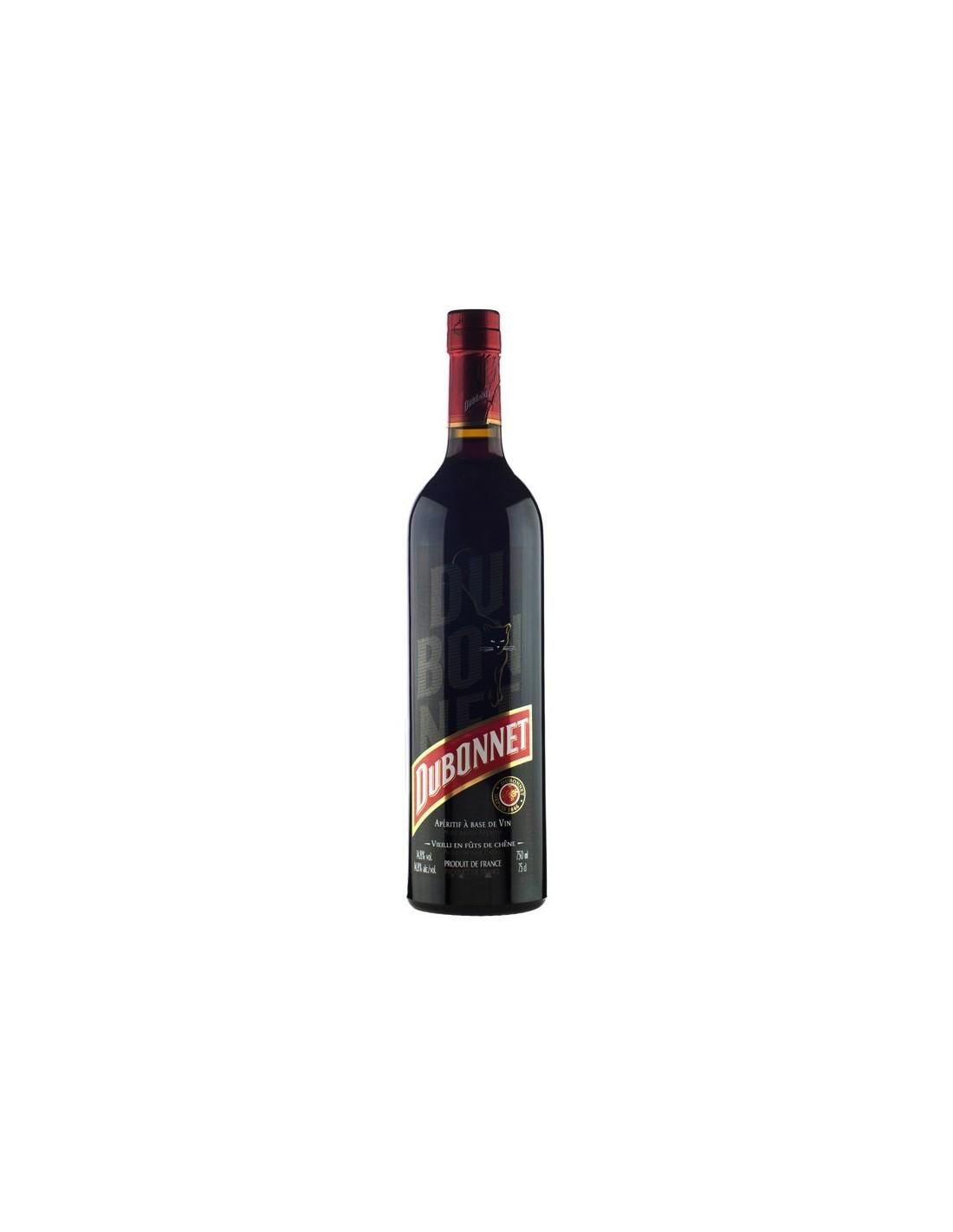 Aperitiv Dubonnet, 14.8% alc., 0.75L, Franta