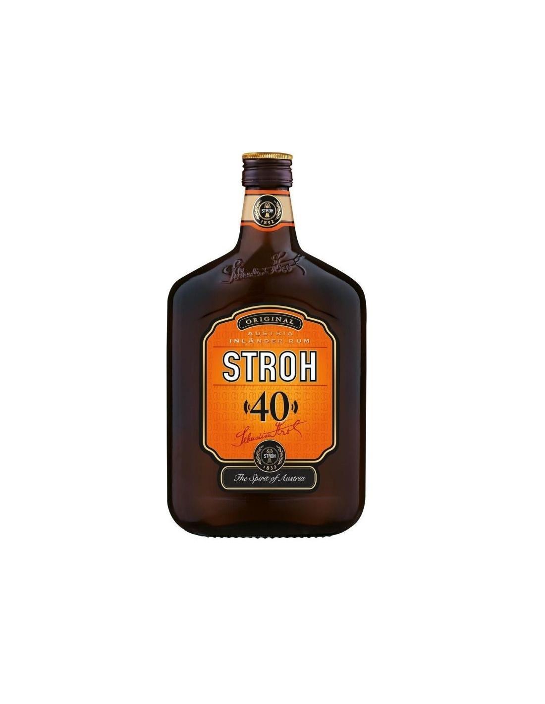 Rom Stroh, 40% alc., 0.7L, Austria, Austria