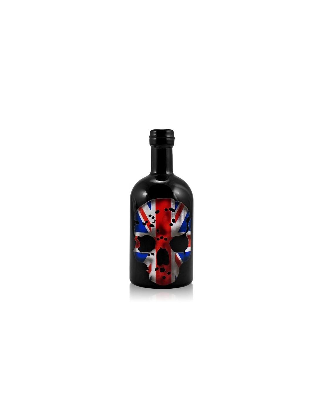 Vodca Ghost The Union Jack Skull 40% alc., 0.7L, Marea Britanie