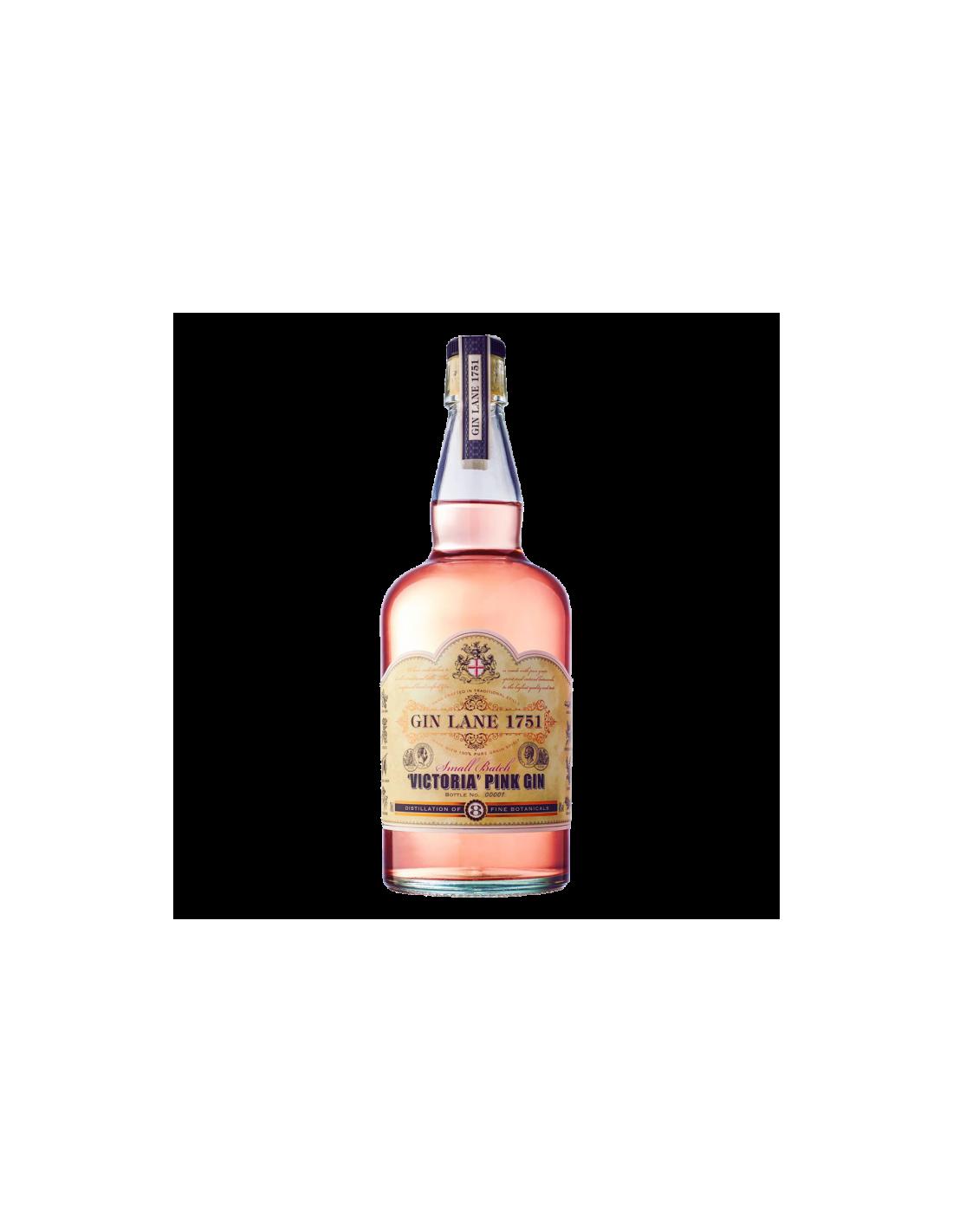 Gin Lane 1751 Victoria Pink 40% alc., 0.7L