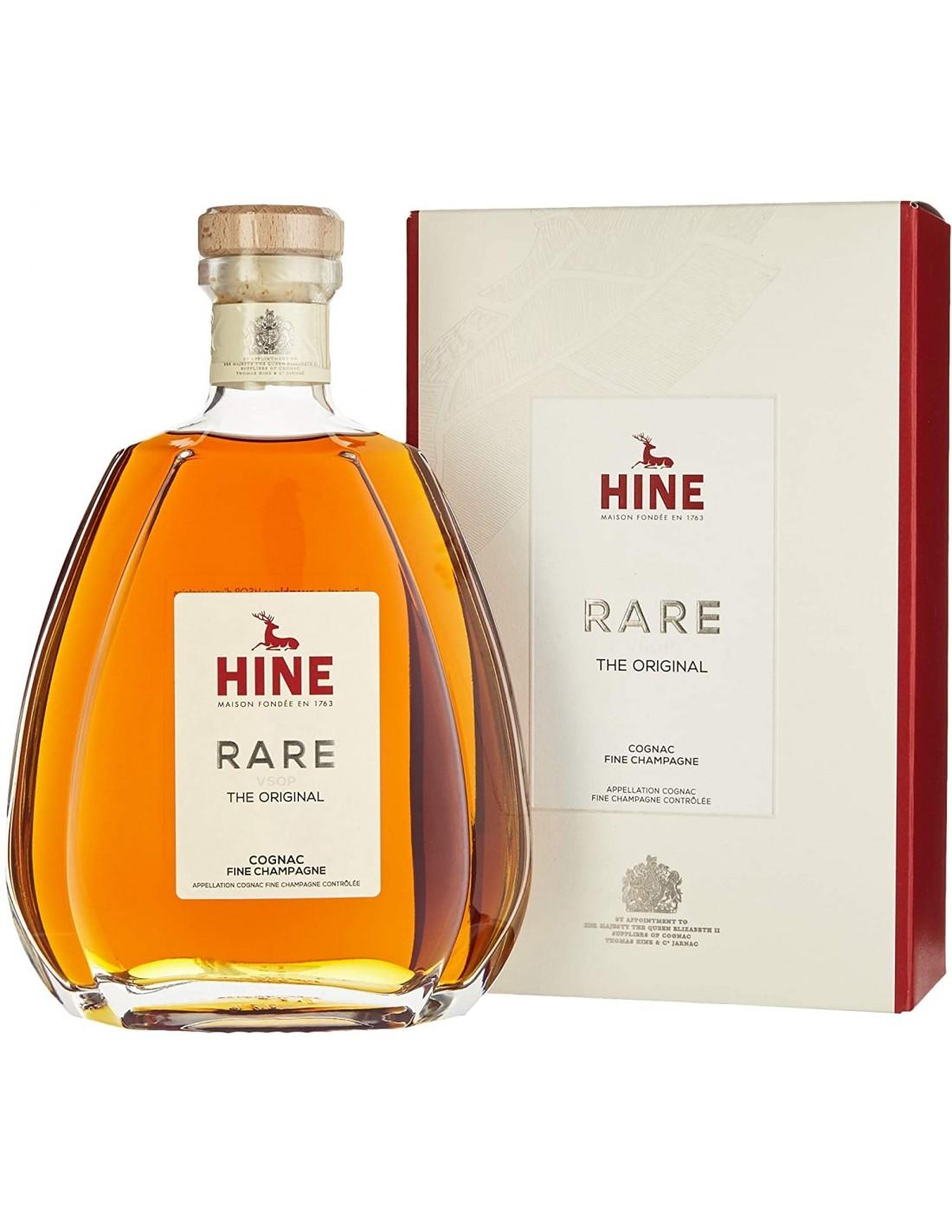 Coniac Hine Rare VSOP Fine + GB 40% alc., 0.7L