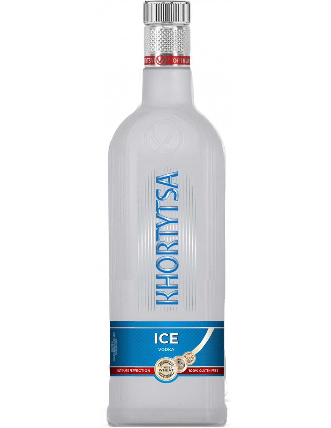 Vodca Khortytsa Khor Ice Flavored 40% alc., 0.7L