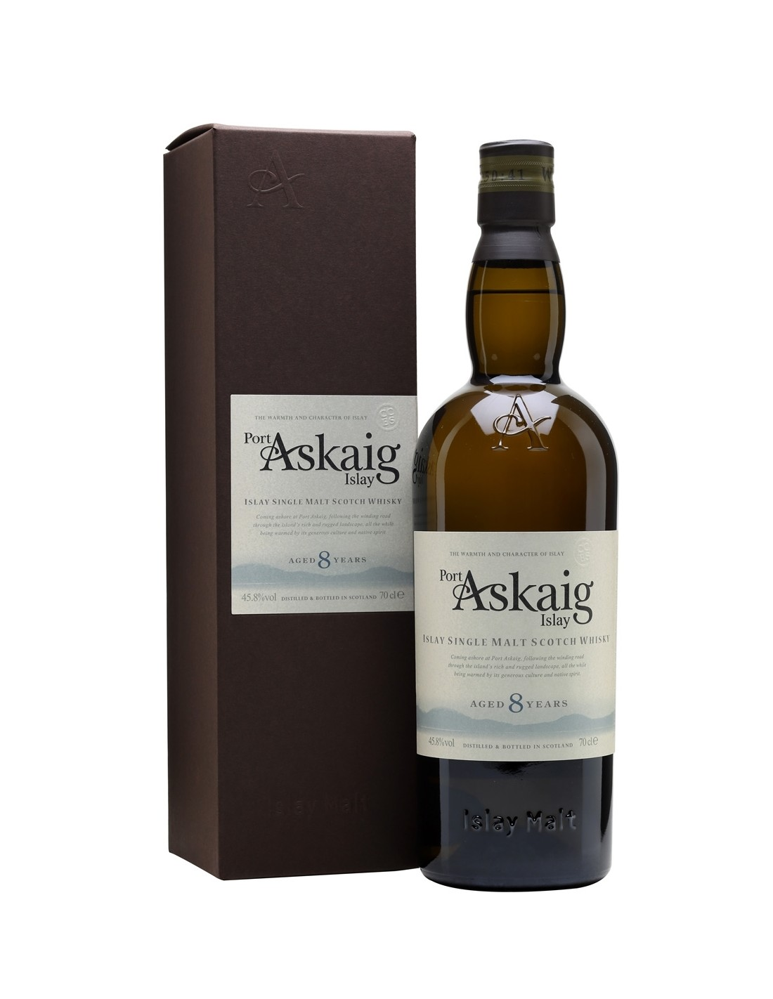 Whisky Port Askaig, 8 ani + GB 45.8% alc., 0.7L