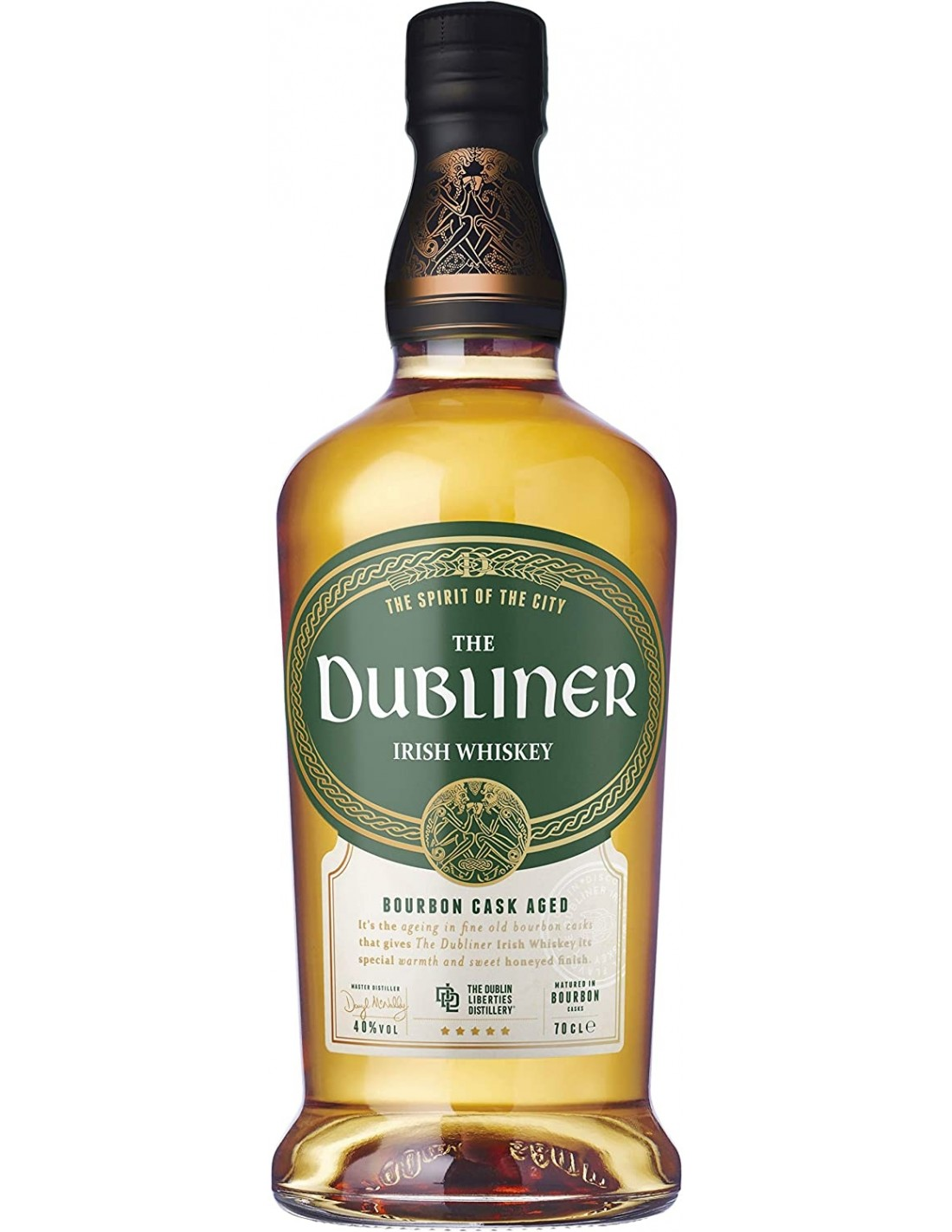 Whisky Bourbon The Dubliner, 40% alc., 0.7L, Irlanda