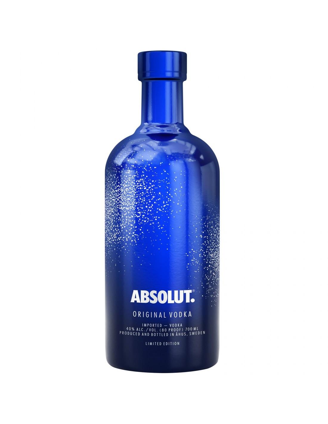 Vodca Absolut Uncover 40% alc., 0.7L, Suedia