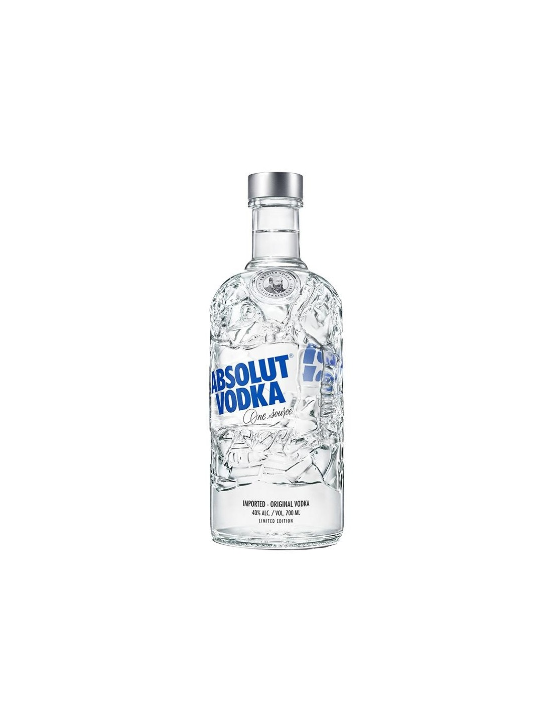 Vodca Absolut Recycled 40% alc., 0.7L, Suedia