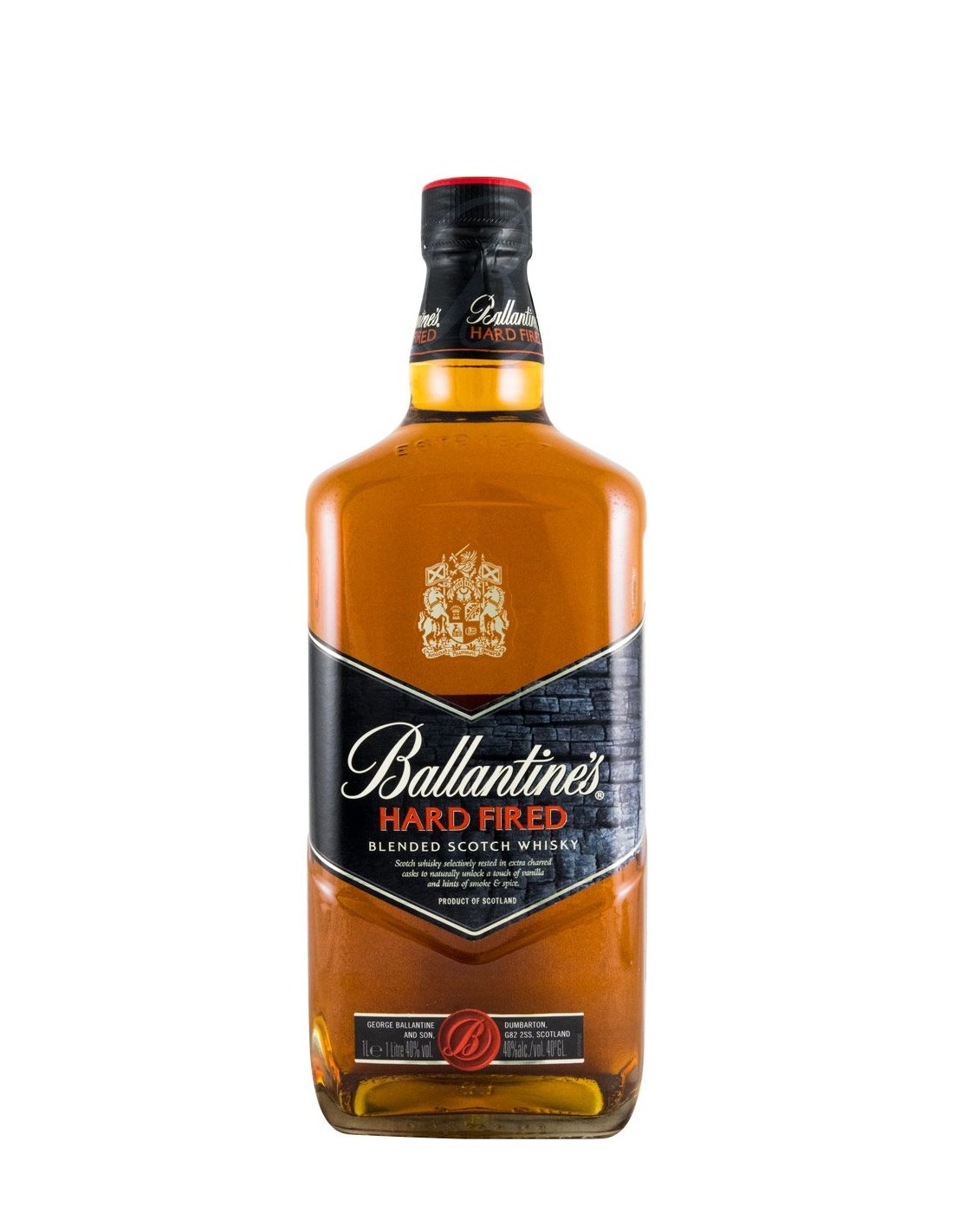 Whisky Ballantine's Hard Fired, 40% alc., 1L, Scotia