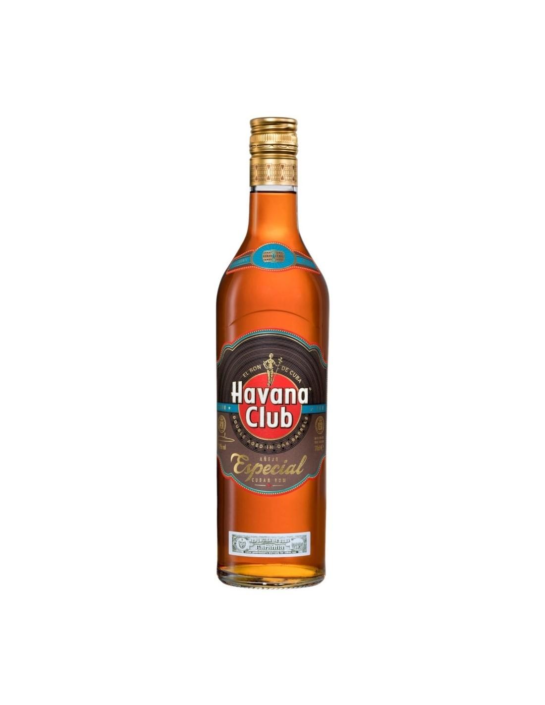 Rom negru Havana Club Especial, 40%, 0.7L