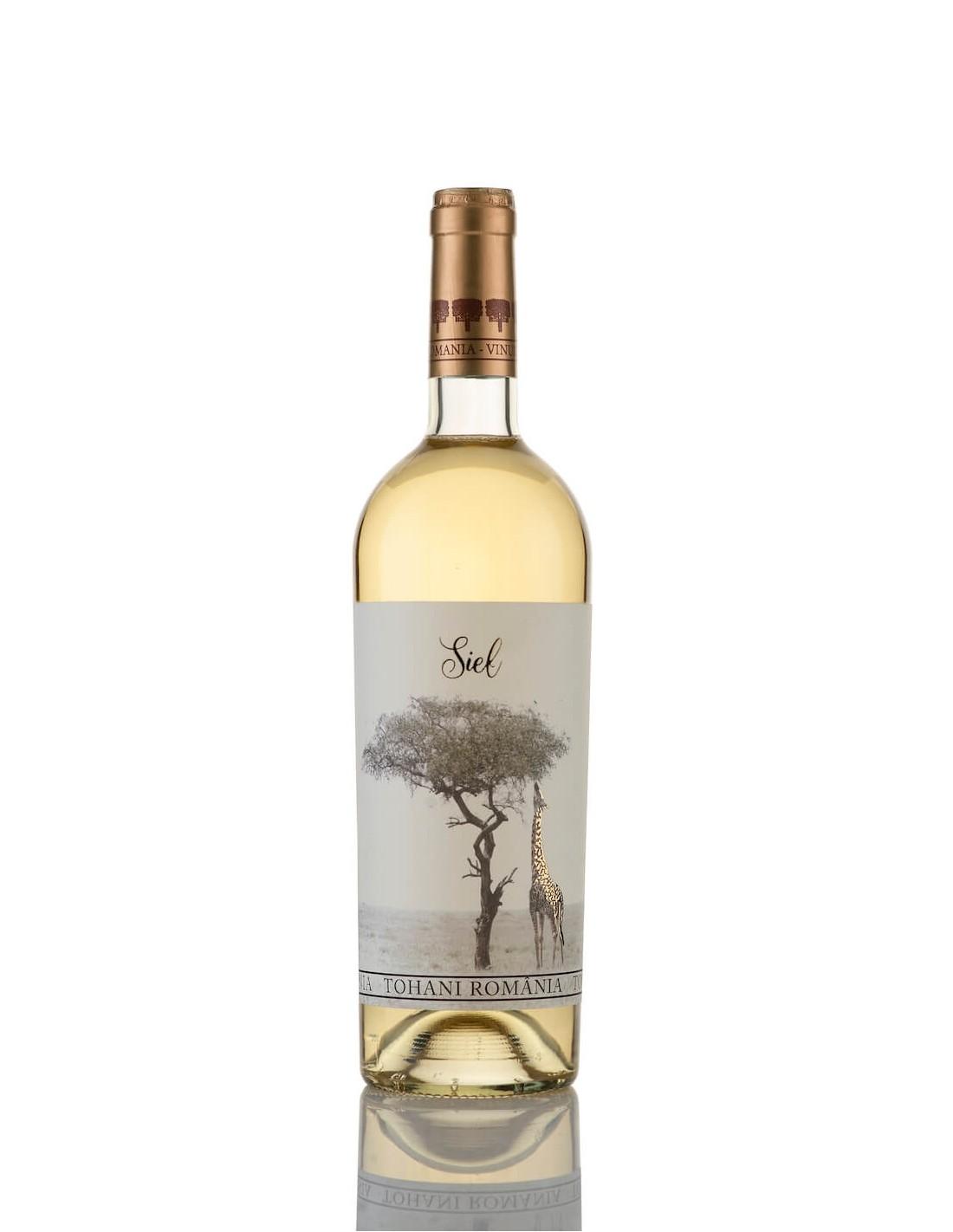 Vin alb sec, Cupaj, Siel Dealu Mare, 0.75L, 12.5% alc., Romania