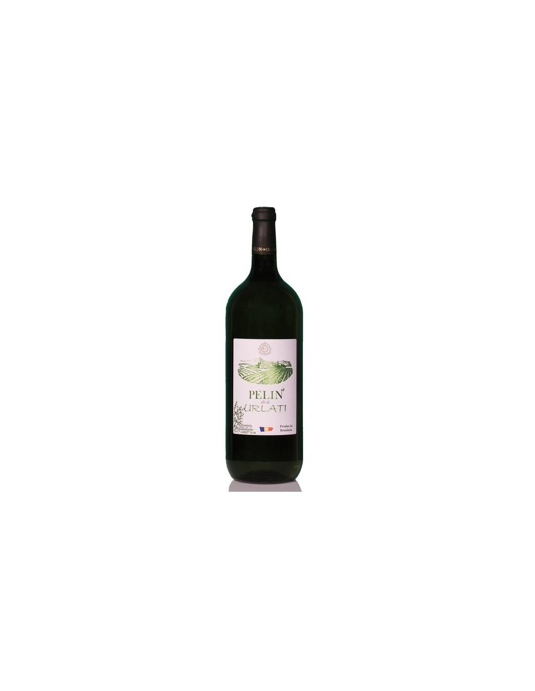 Vin alb demisec, Cupaj, Pelin Dealu Mare, 1.5L, 13% alc., Romania