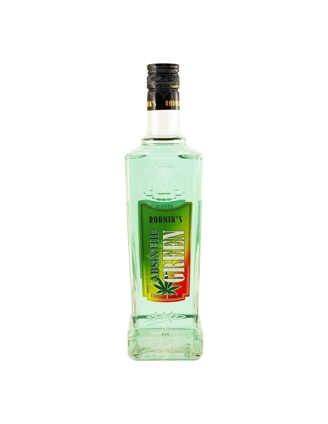 Absint Rodnik's Green, 70% alc., 0.7L, Spania