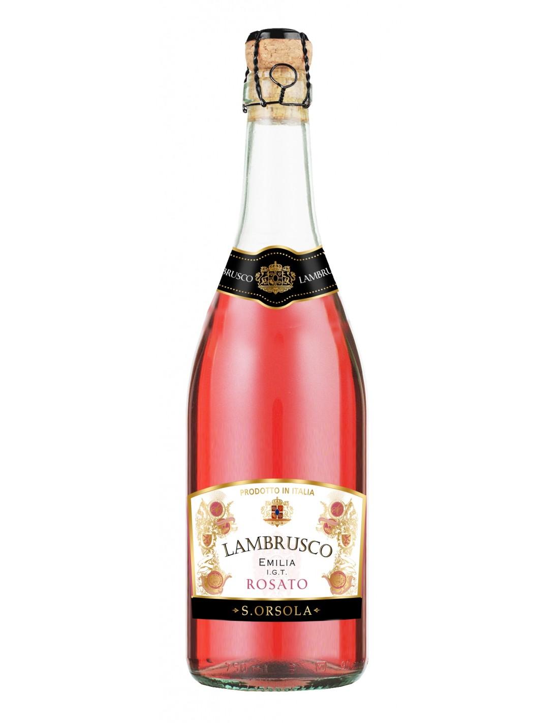 Vin roze, Lambrusco Emilia, Casa Sant'Orsola, 0.75L, Italia