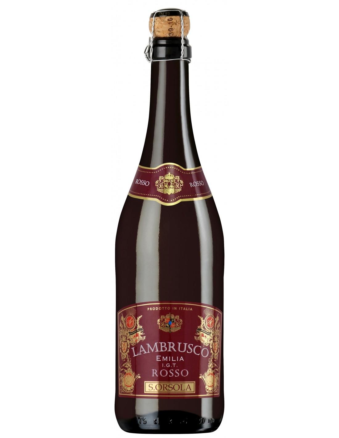 Vin rosu, Lambrusco, Emilia, 0.75L, Italia