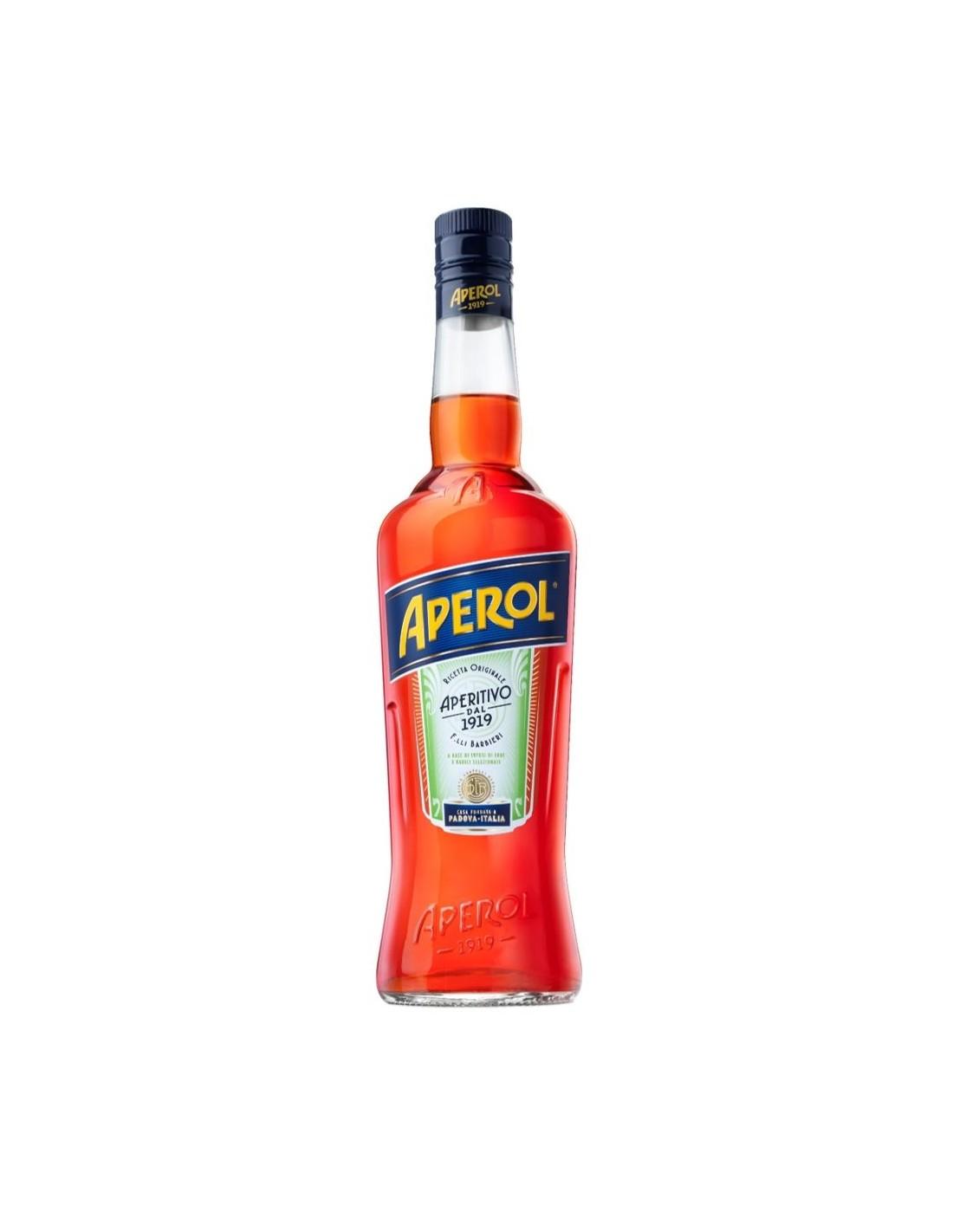 Aperitiv Aperol, 11% alc., 1L, Italia