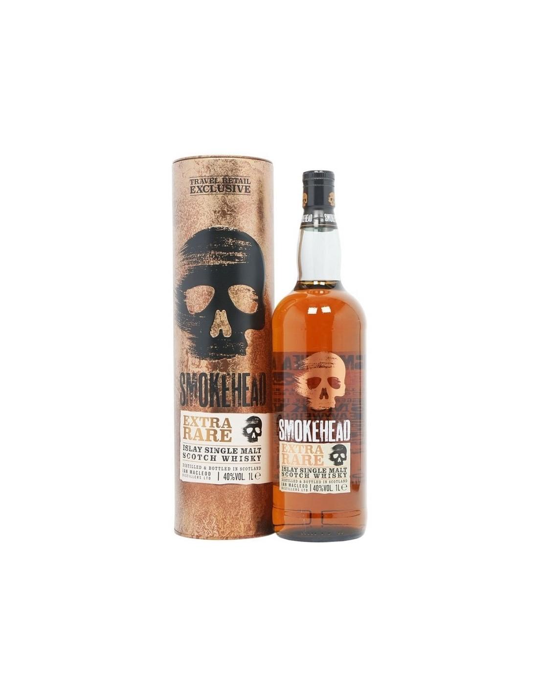 Whisky Smokehead Extra Rare, 12 ani, 40% alc., 1L, Scotia