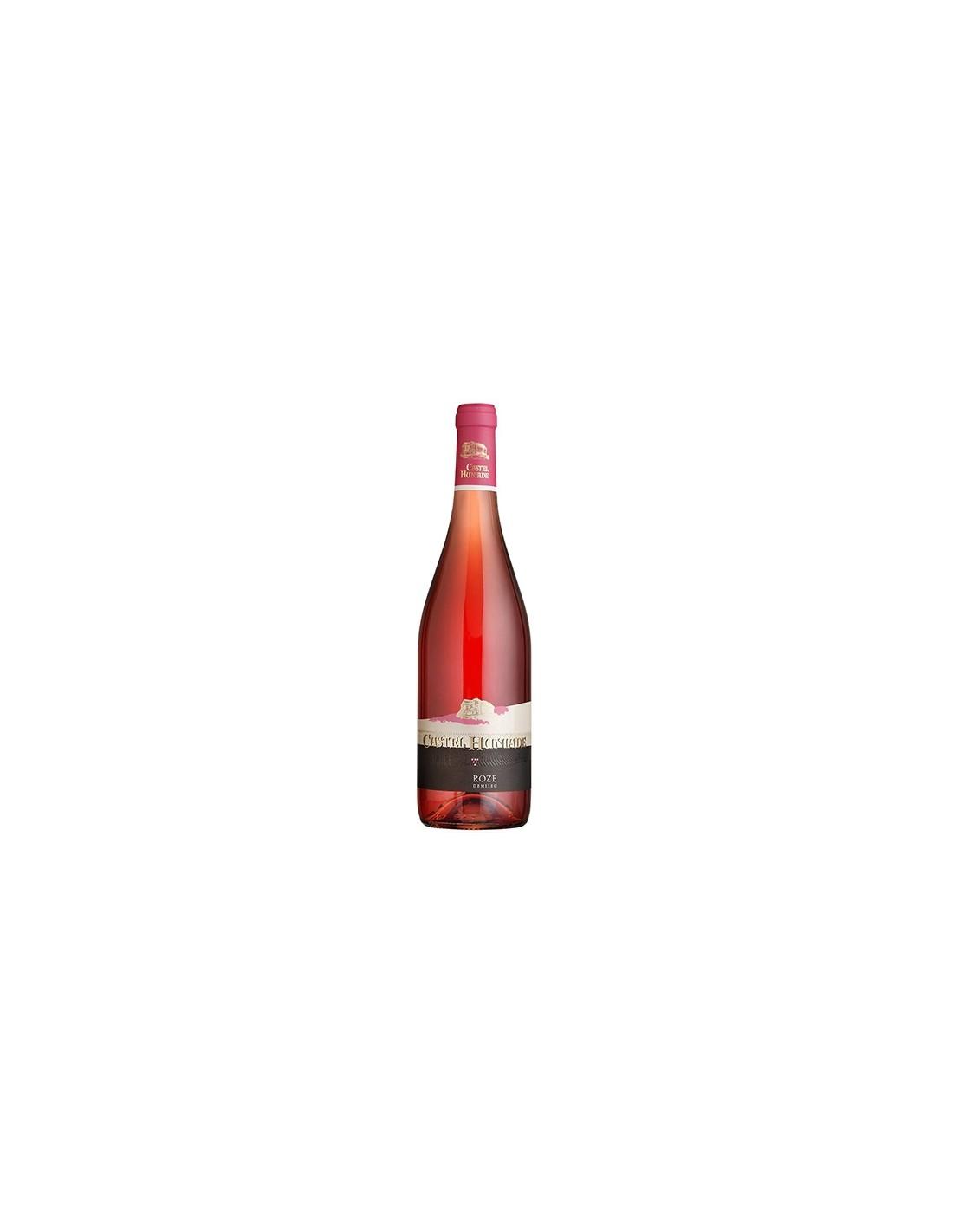 Vin roze demisec, Castel Huniade Recas, 0.75L, 12% alc., Romania
