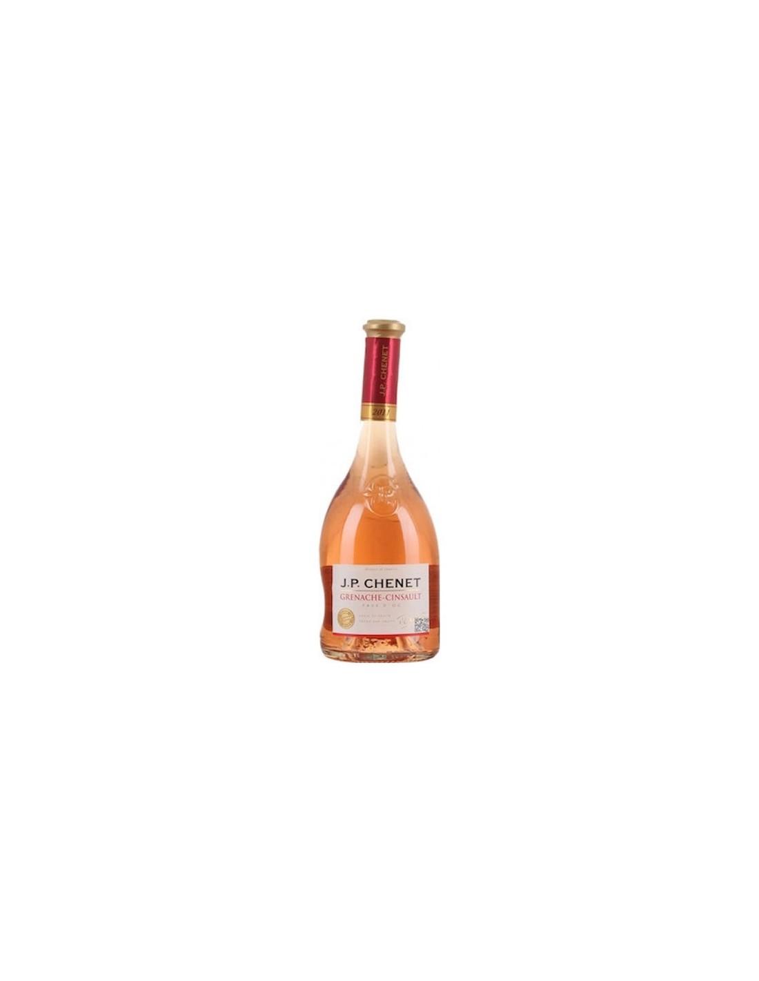 Vin roze sec, Grenache Cinsault, J.P. Chenet Pays d'Oc, 0.75L, 12.5% alc., Franta