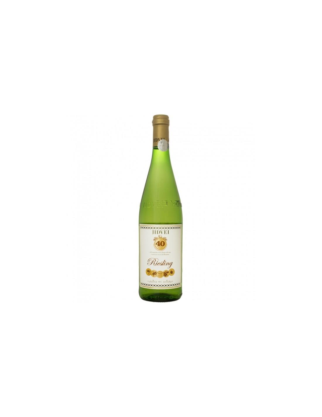 Vin alb sec, Riesling, Jidvei Tarnave, 0.75L, 11% alc., Romania