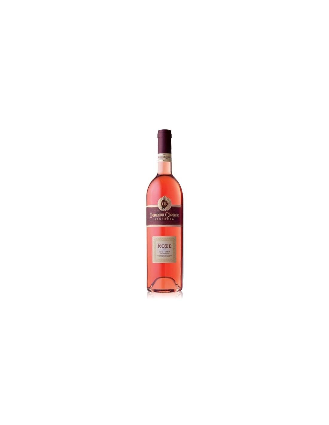 Vin roze sec, Domeniul Coroanei Segarcea, 0.75L, 13.2% alc., Romania
