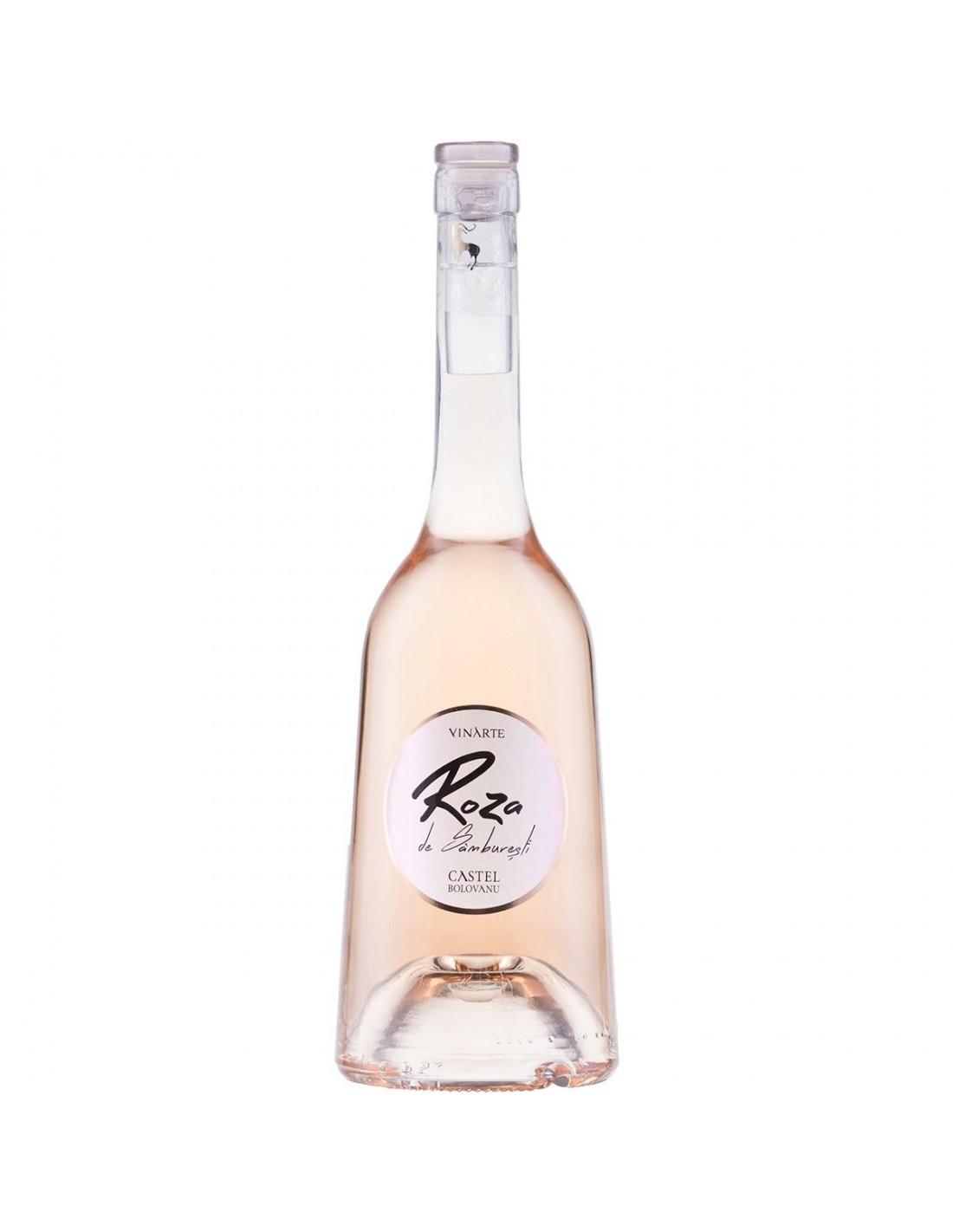 Vin roze sec, Roza de Samburesti, Cabernet Sauvignon, 12.5% alc., 0.75L