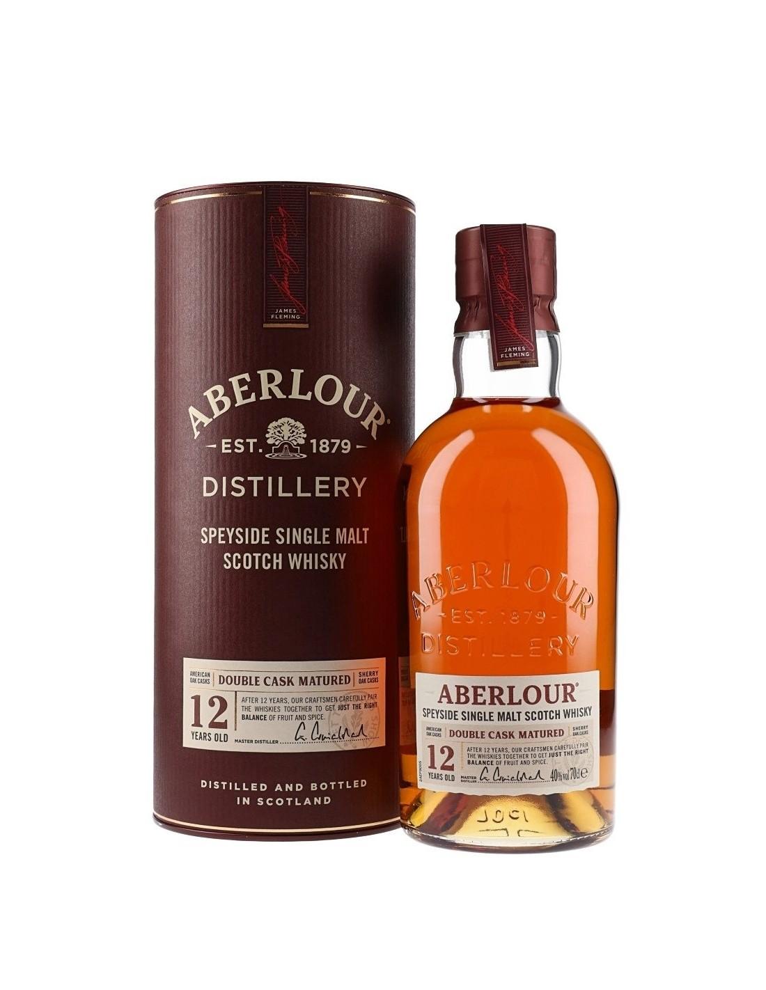 Whisky Aberlour, 12 ani, 40% alc., 0.7L, Scotia