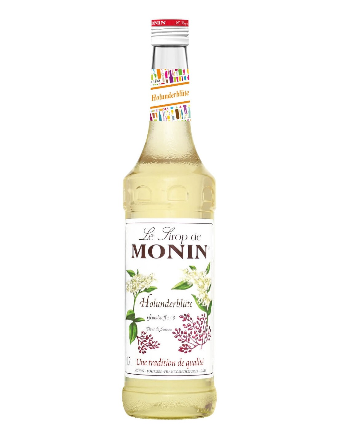 Sirop cocktail Monin Flori de Soc Monin Holunderblute, 0.7L, Franta