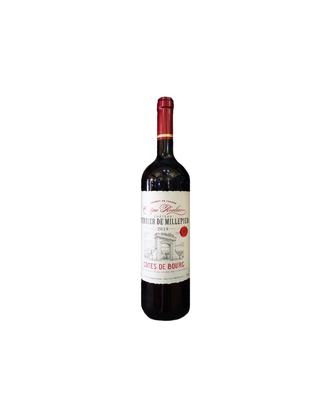 Vin rosu, Château Terrier de Millepied Côtes de Bourg, 0.75L, Franta