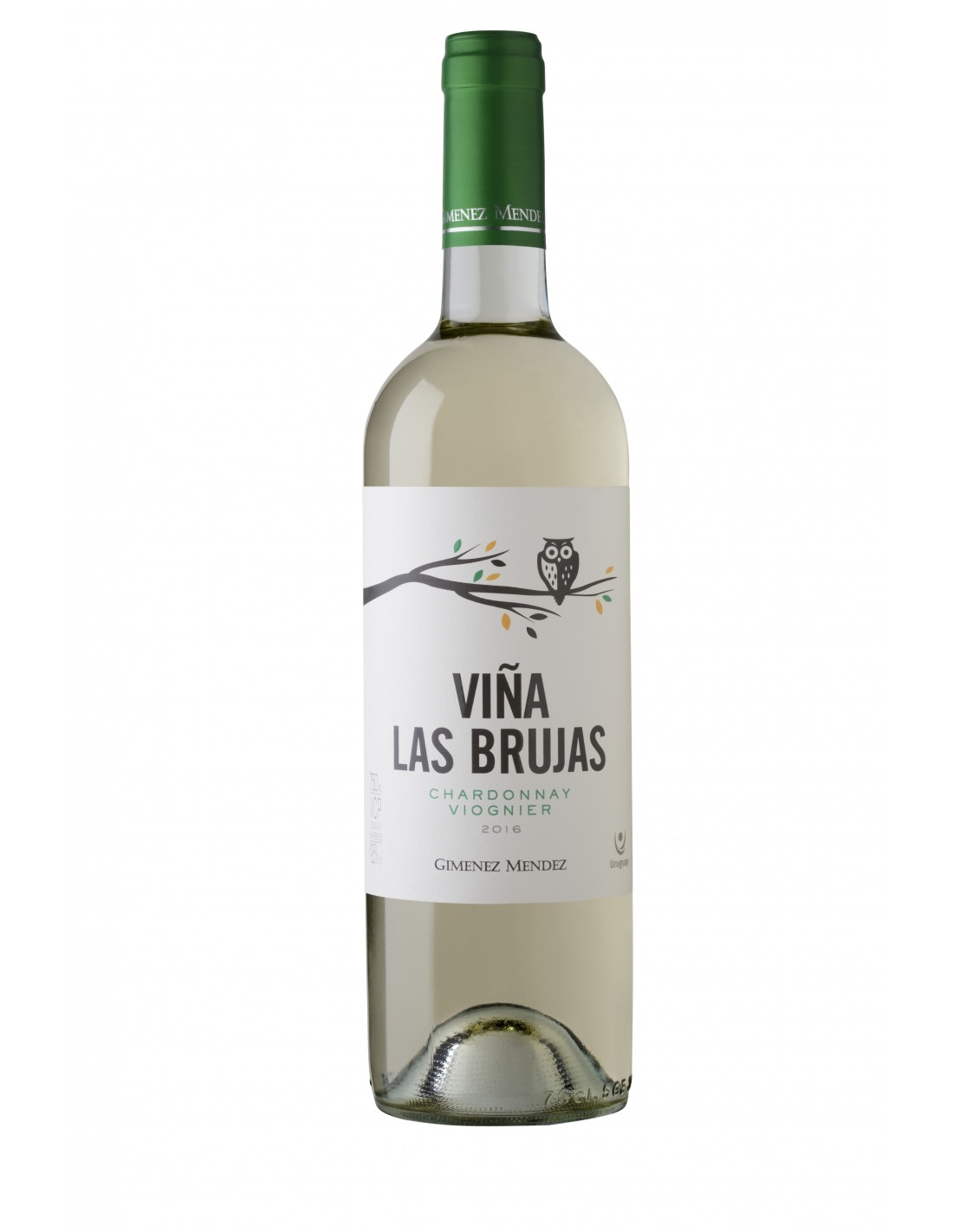Vin alb, Chardonnay Viognier, Viña Las Brujas Canelones, 0.75L, 12.5% alc., Uruguay