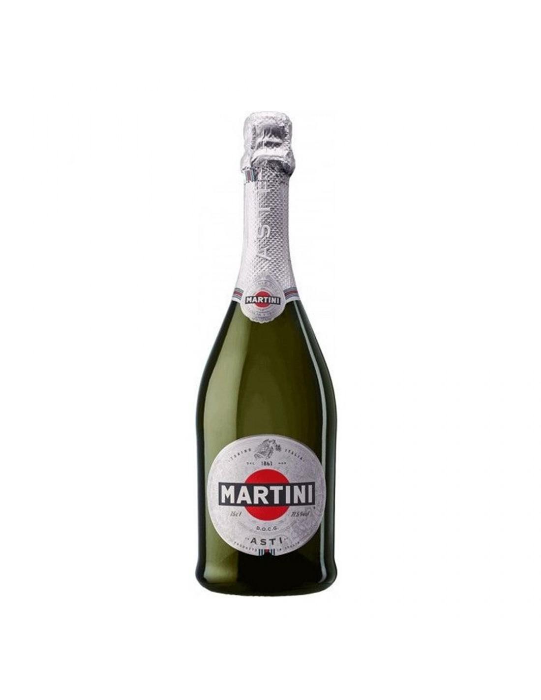 Vin spumos prosecco alb demidulce, Martini Veneto, 0.75L, 7.50% alc., Italia