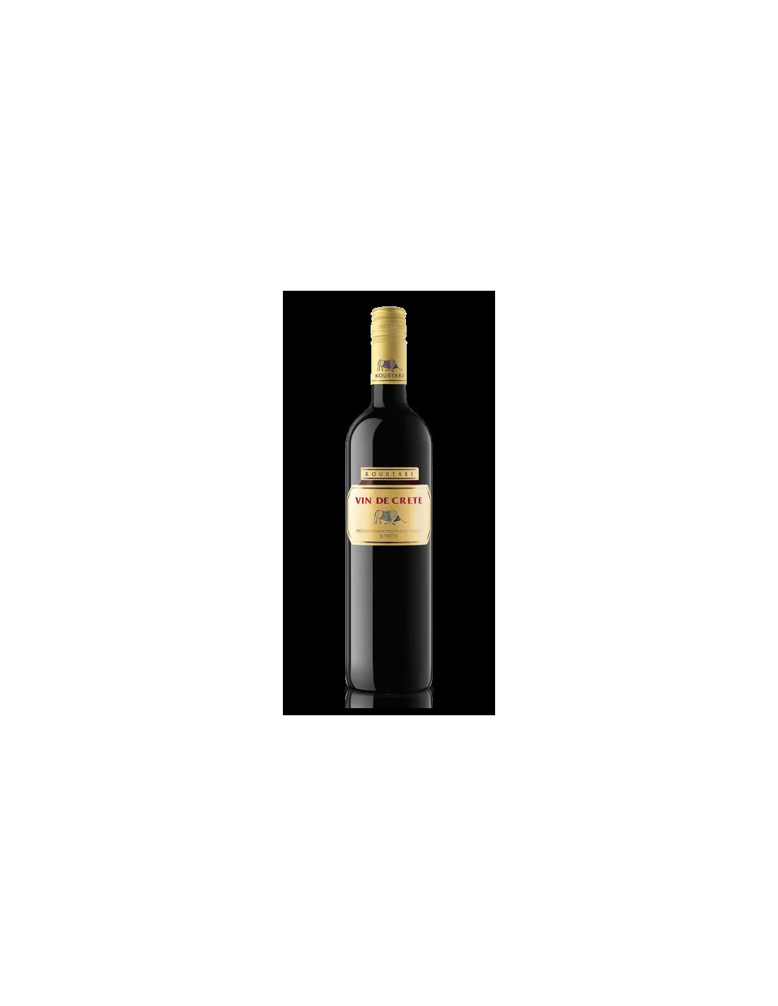 Vin rosu de Crete, 0.75L, 12% alc., Grecia