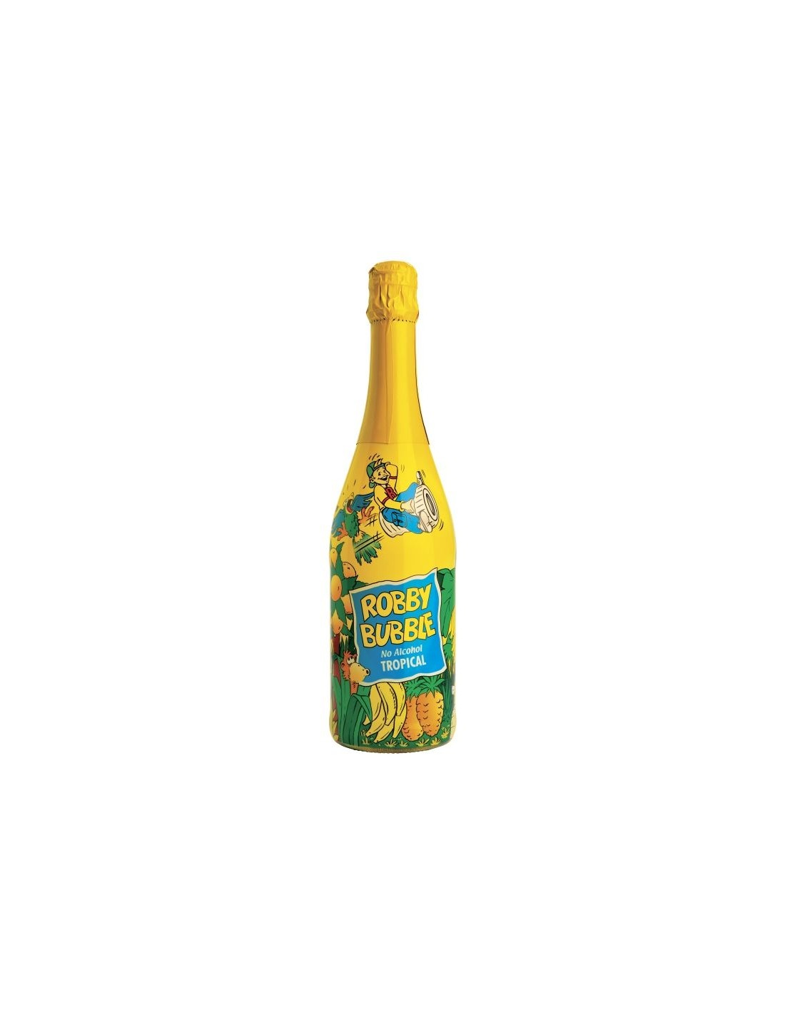 Sampanie pentru copii Robby Bubble tropical 0.75L, Germania
