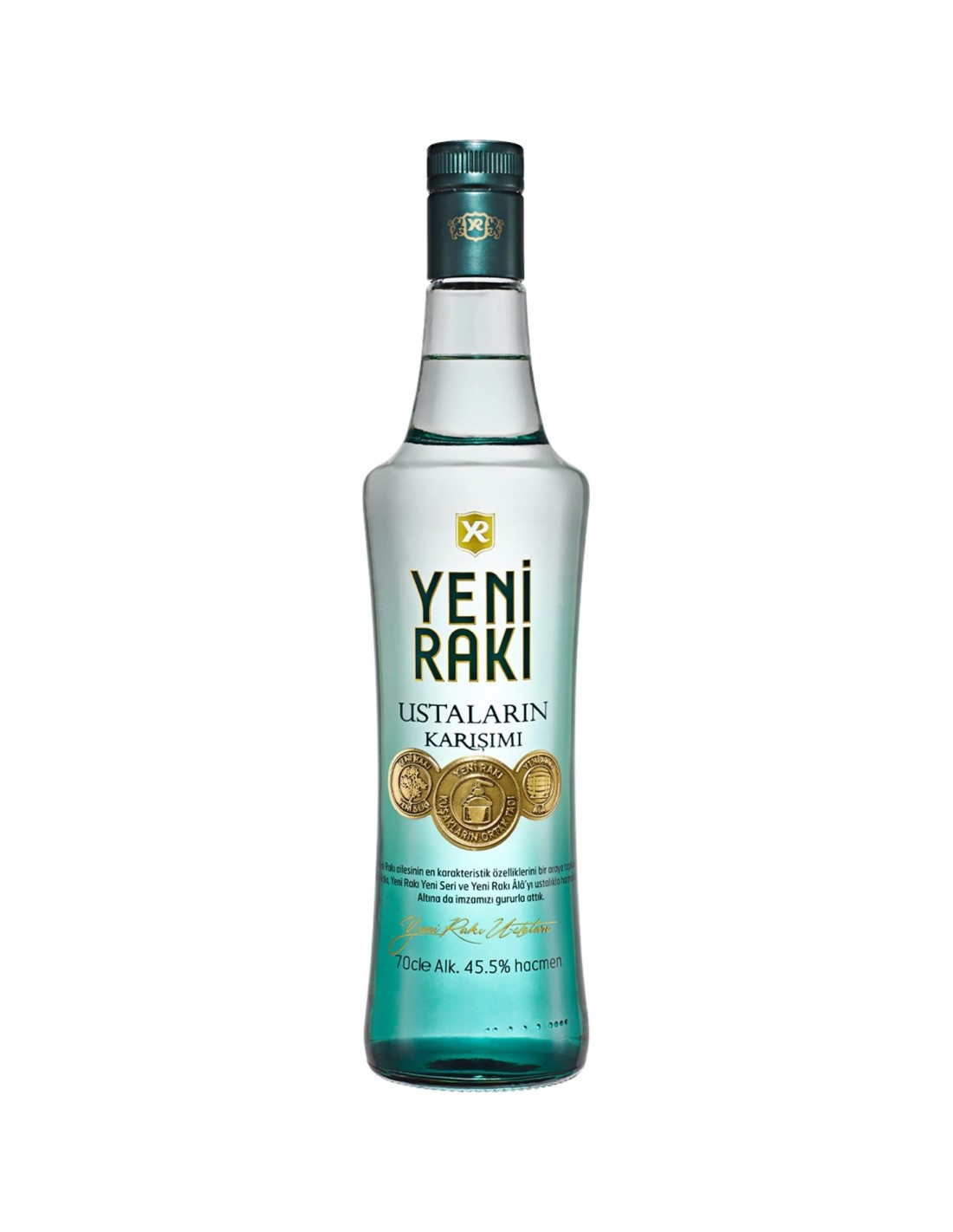 Bautura traditionala Yeni Raki Ustalarin Karisimi, 45.5% alc., 0.7L, Turcia