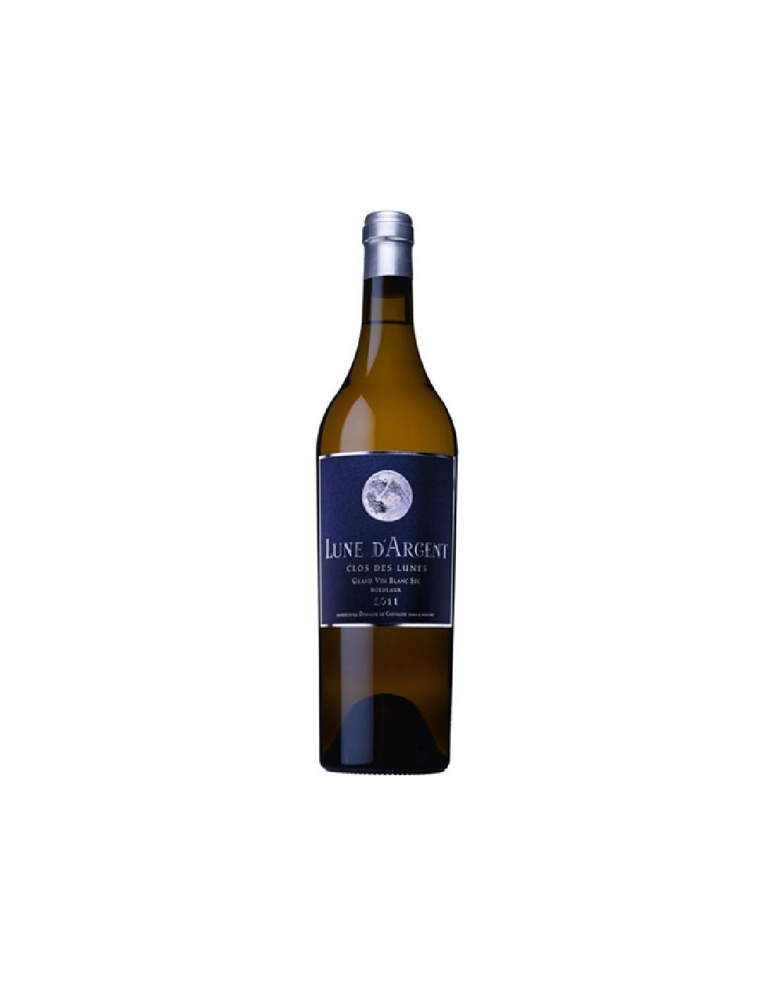 Vin rosu, Cupaj, Lune d'Argent Bordeaux, 0.75L, 13% alc., Franta